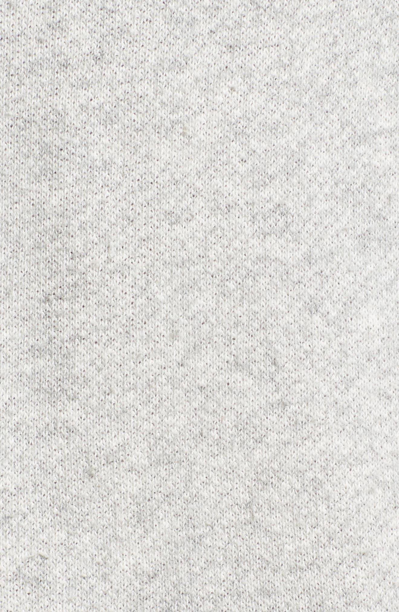 R13,                             Vintage Distressed Sweatshirt,                             Alternate thumbnail 5, color,                             071