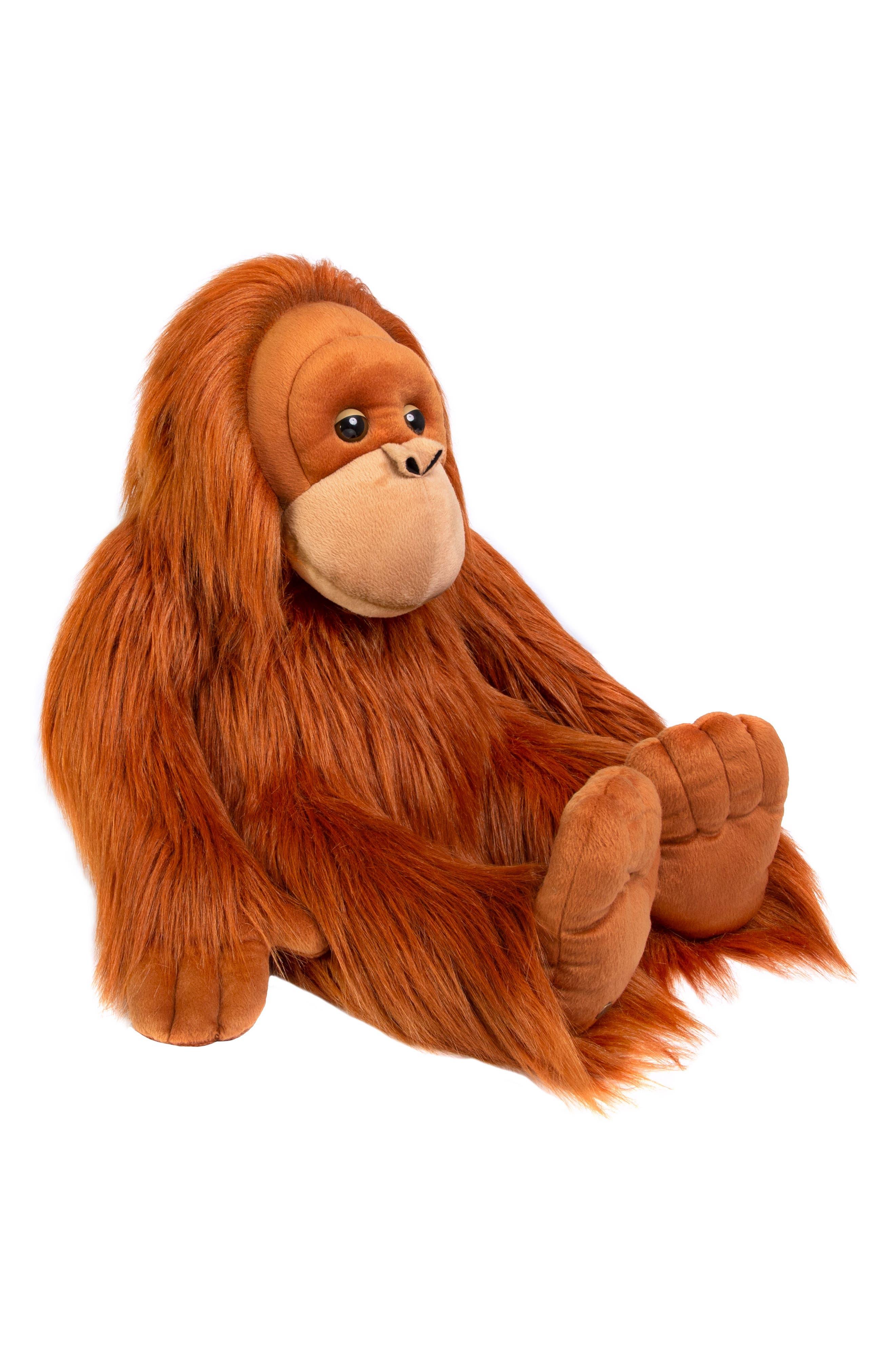 Plush Monkey,                             Alternate thumbnail 2, color,                             BROWN