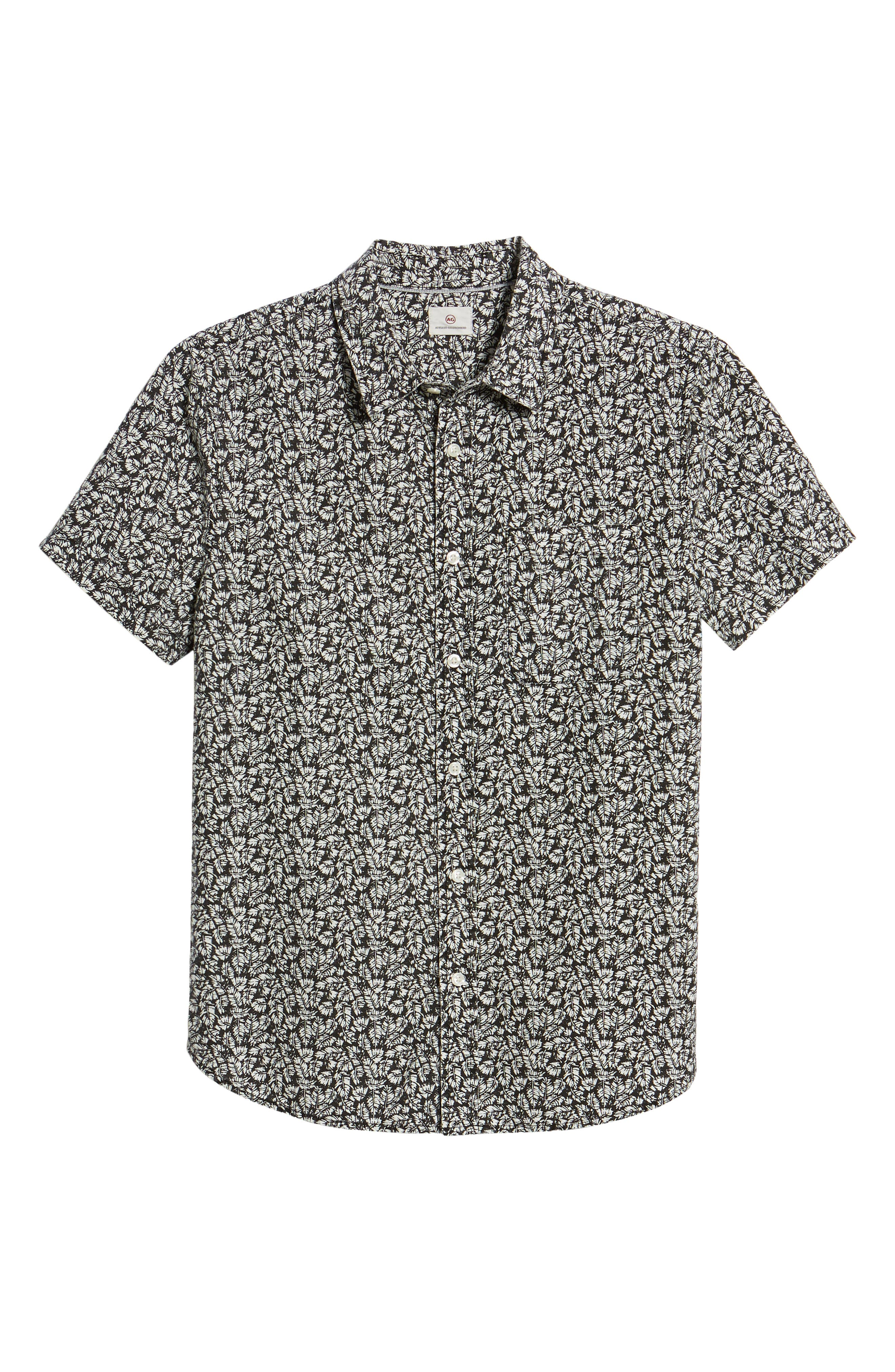 Nash Regular Fit Short Sleeve Sport Shirt,                             Alternate thumbnail 6, color,                             015