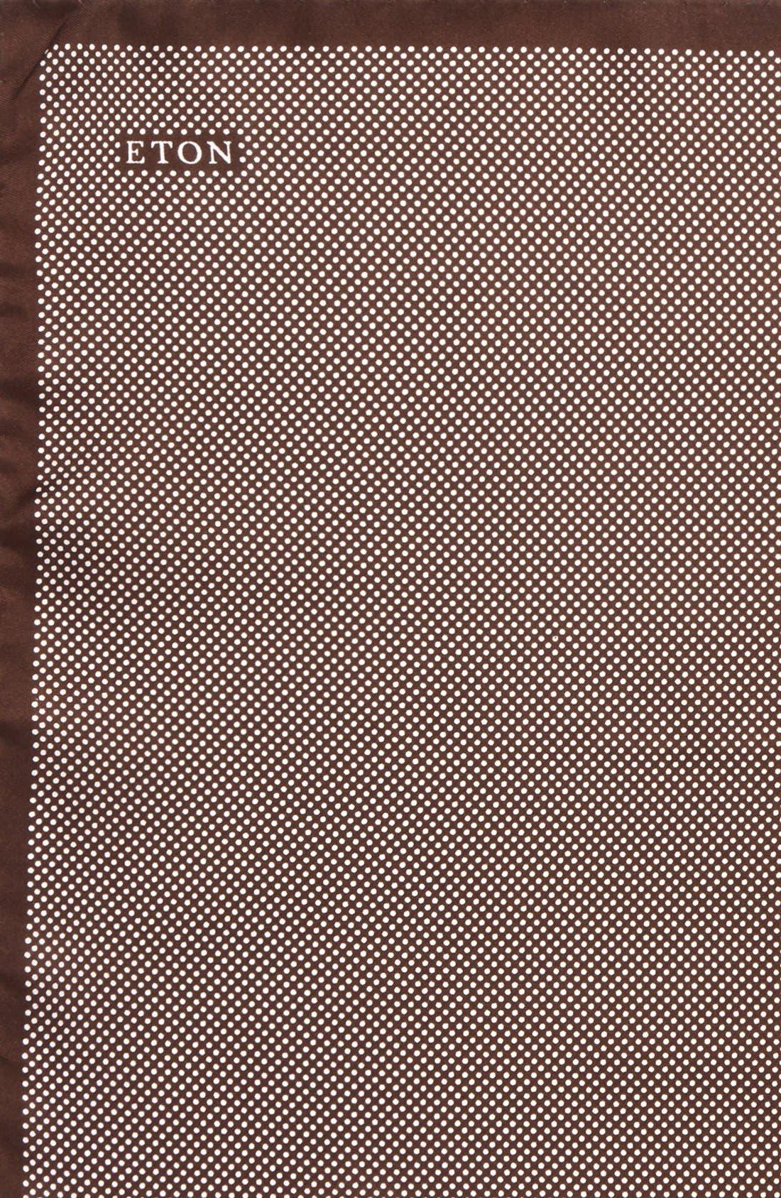 Dot Silk Pocket Square,                             Alternate thumbnail 24, color,