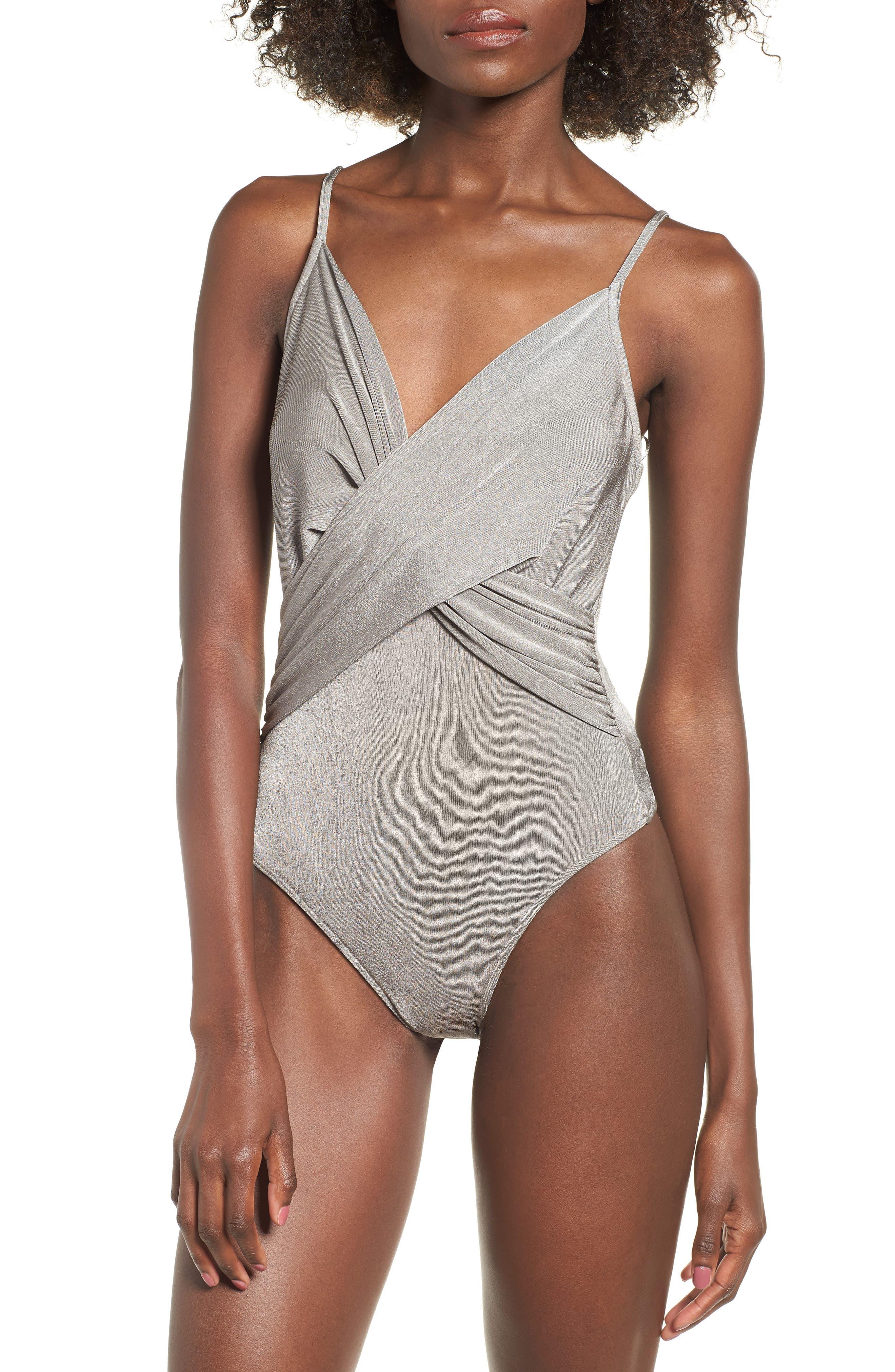 Twist Front Bodysuit,                             Alternate thumbnail 4, color,                             040
