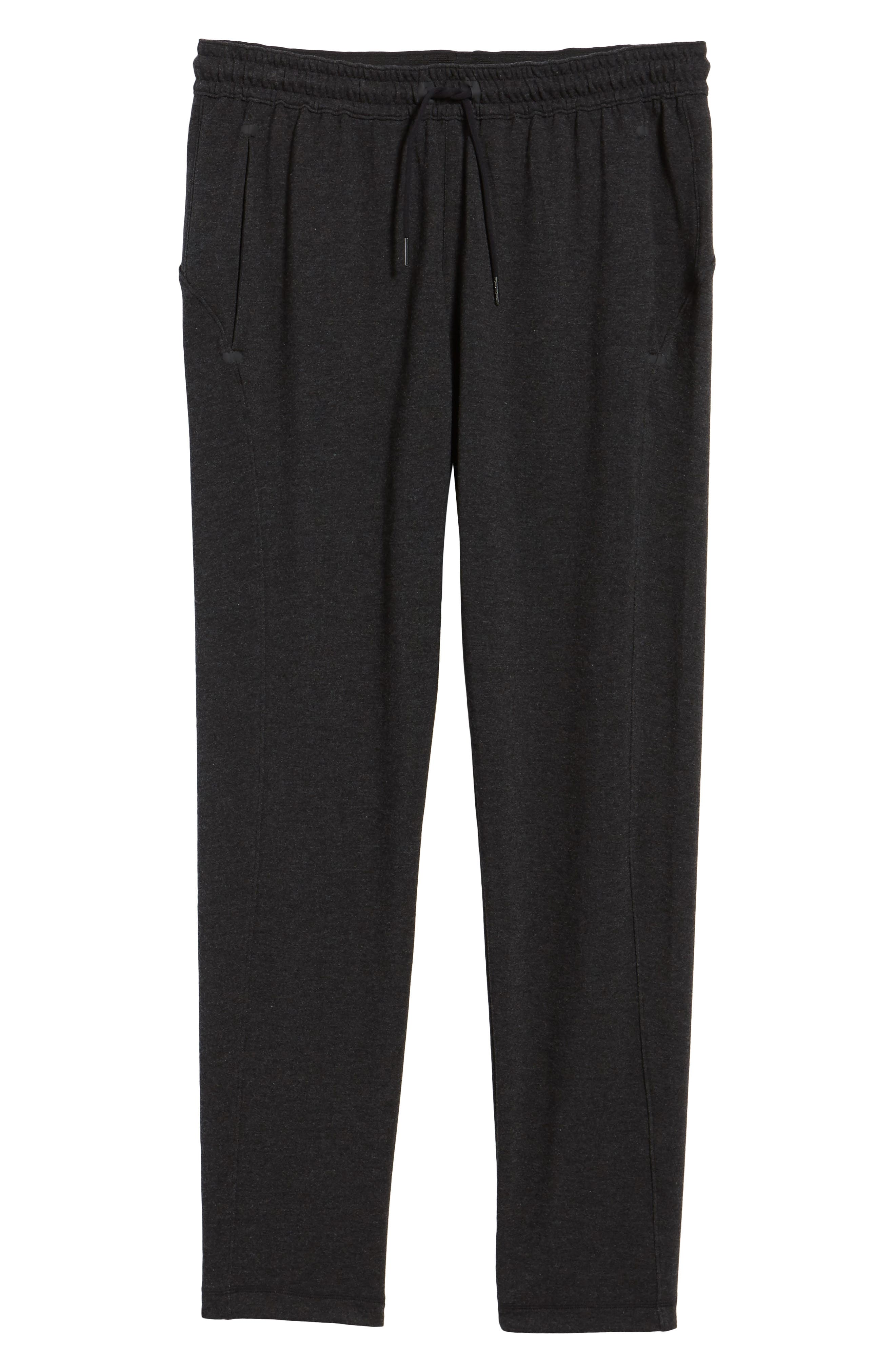 New Pyrite Tapered Fit Fleece Pants,                             Alternate thumbnail 6, color,