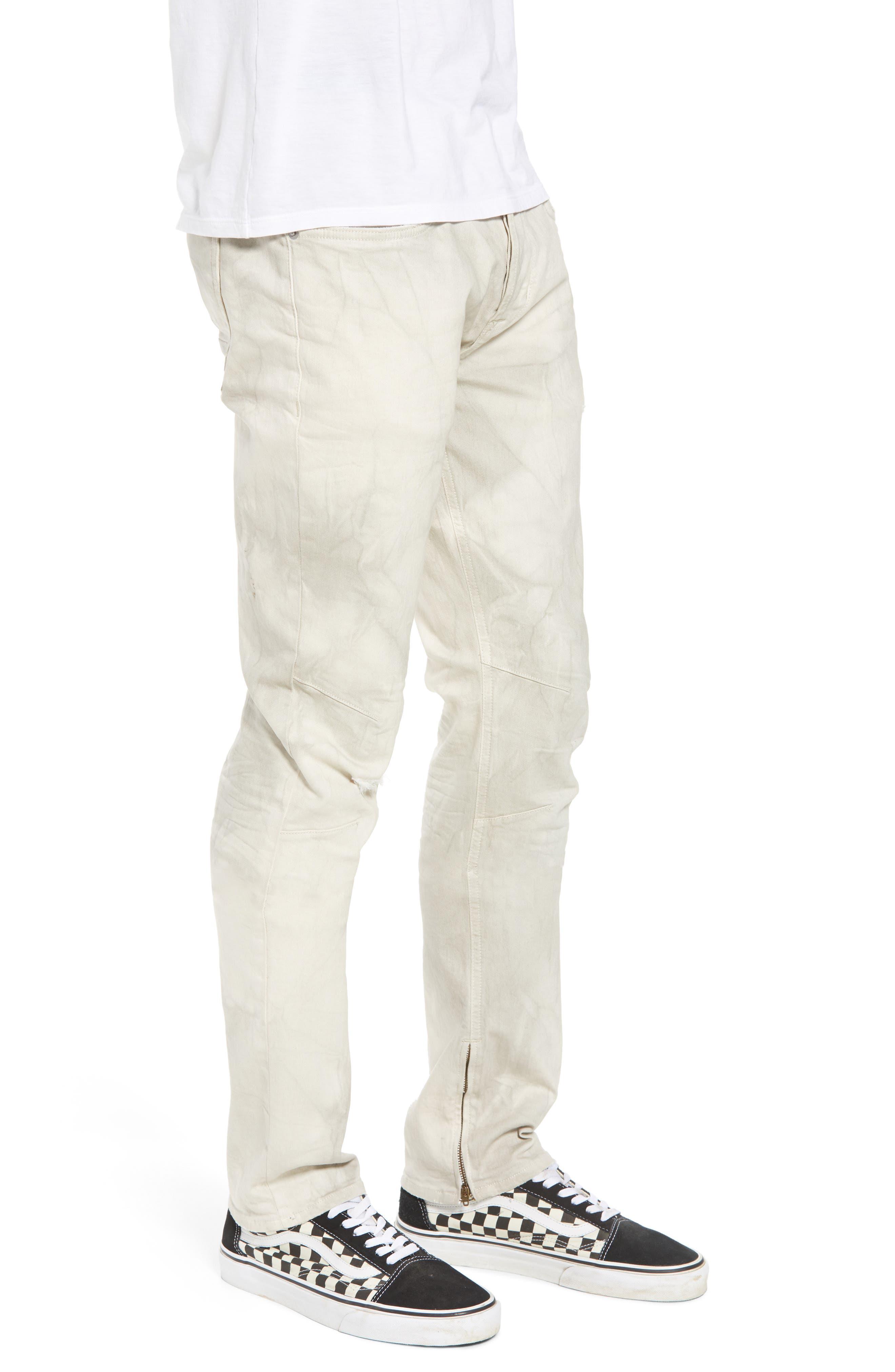 Vaughn Biker Skinny Fit Jeans,                             Alternate thumbnail 3, color,                             250