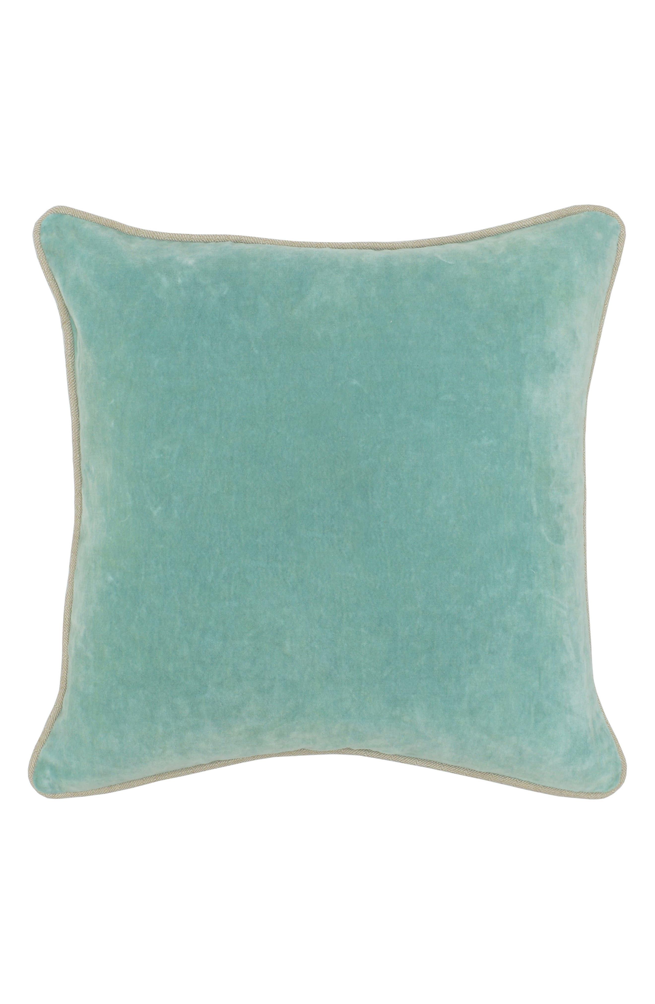 Heirloom Velvet Accent Pillow,                         Main,                         color, 400