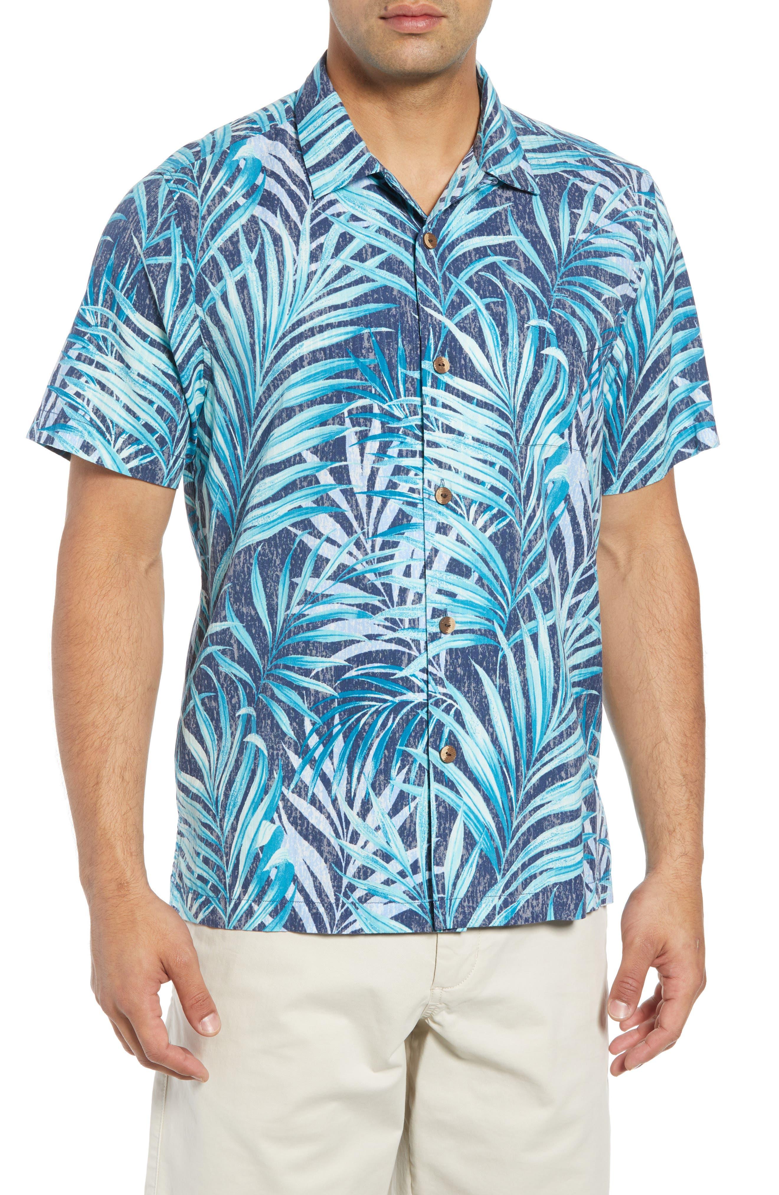 Teatro Palms Sport Shirt,                             Main thumbnail 1, color,                             SHIPWRECK