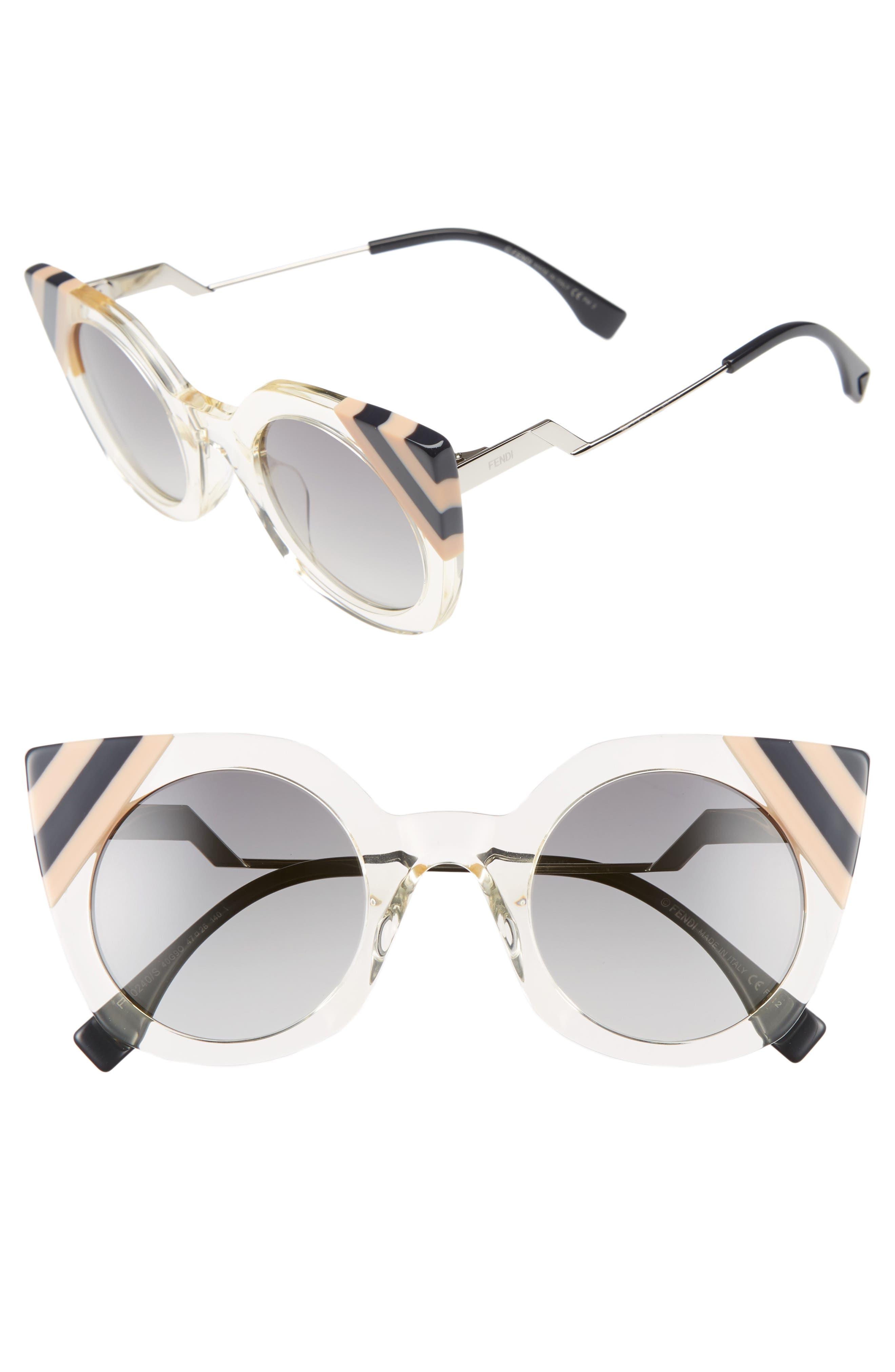 47mm Cat Eye Sunglasses,                             Main thumbnail 4, color,