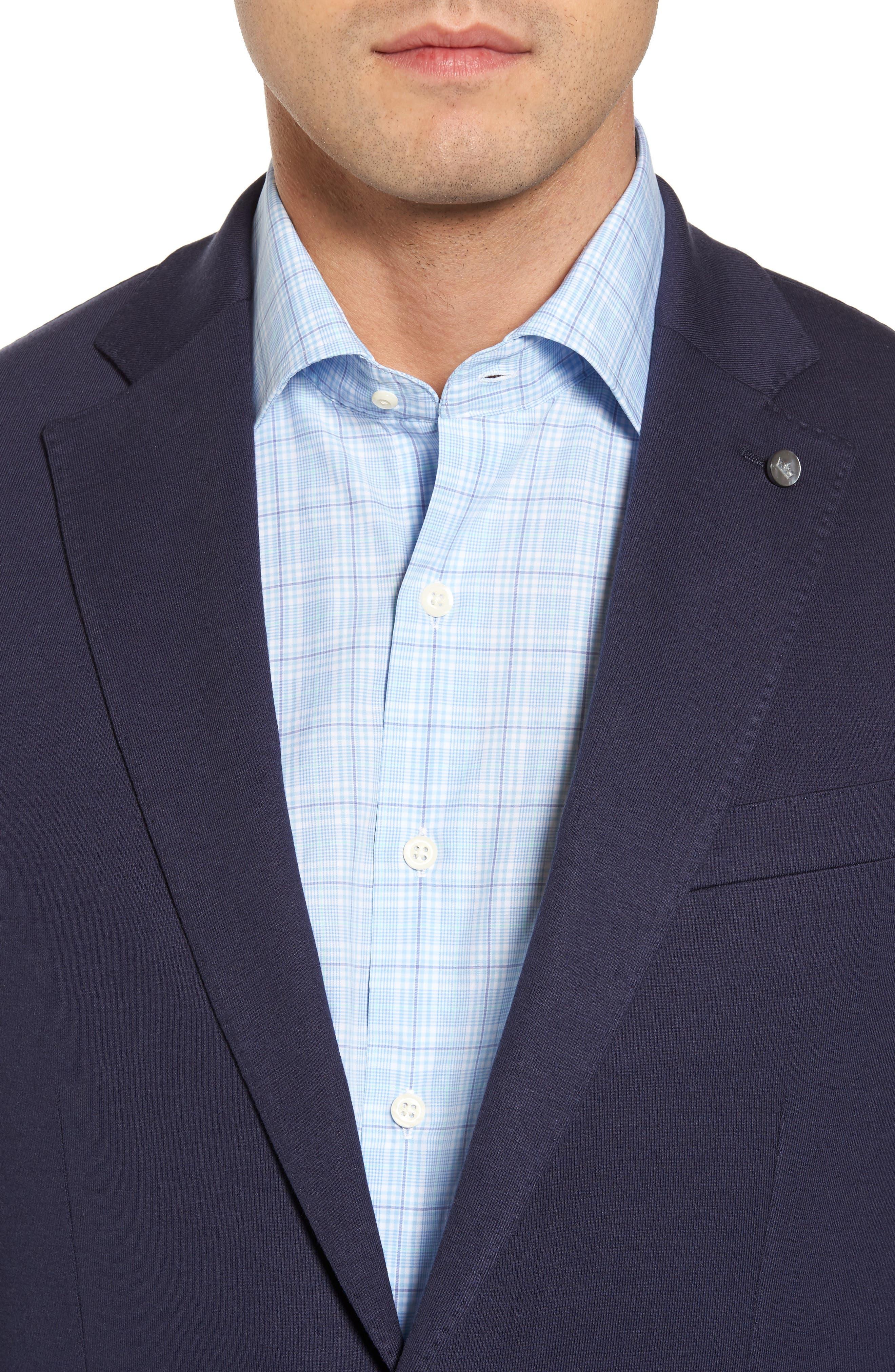 Santorini Jersey Knit Jacket,                             Alternate thumbnail 4, color,                             417