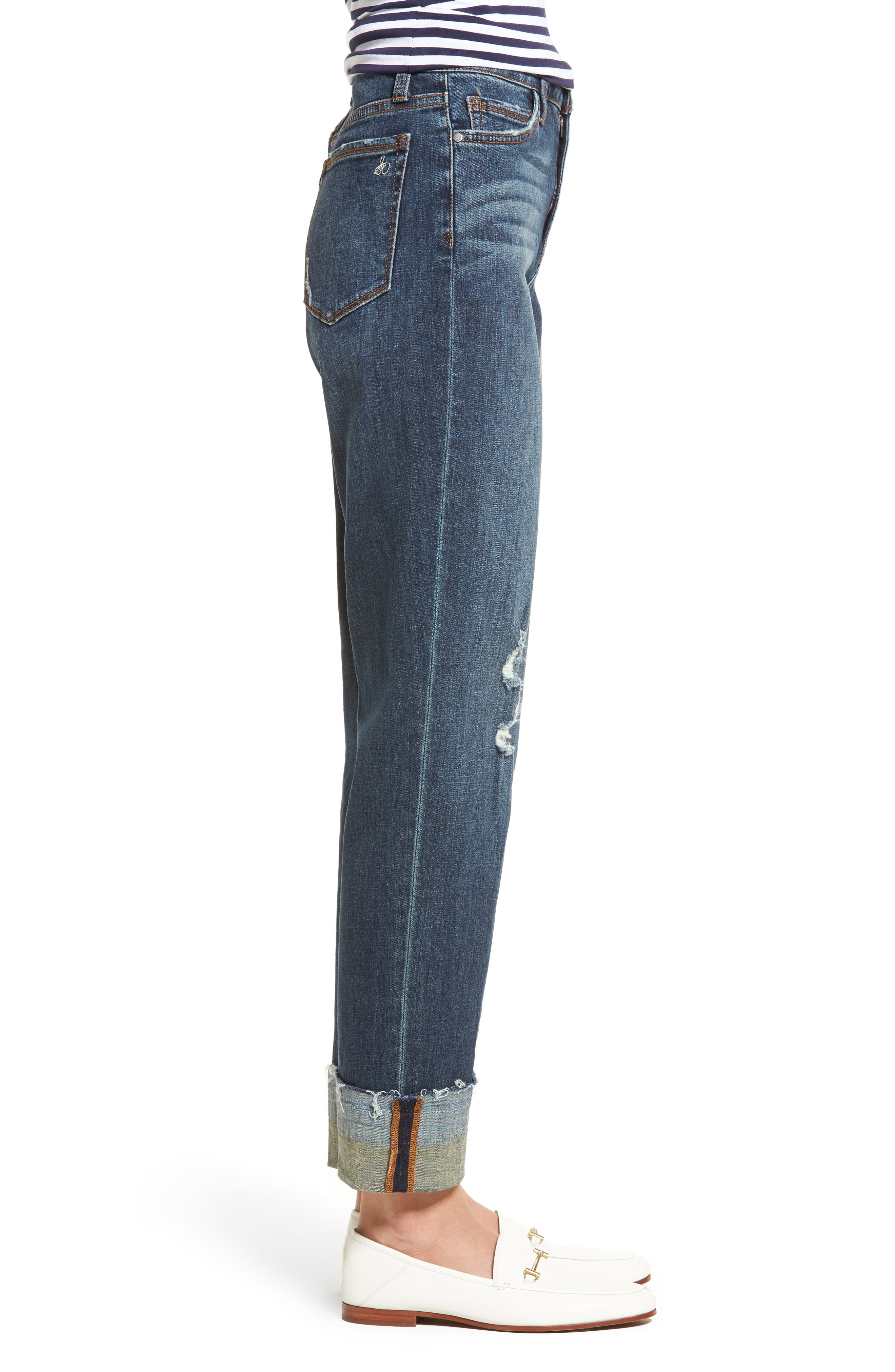 The Mary Jane High Rise Jeans,                             Alternate thumbnail 3, color,                             420