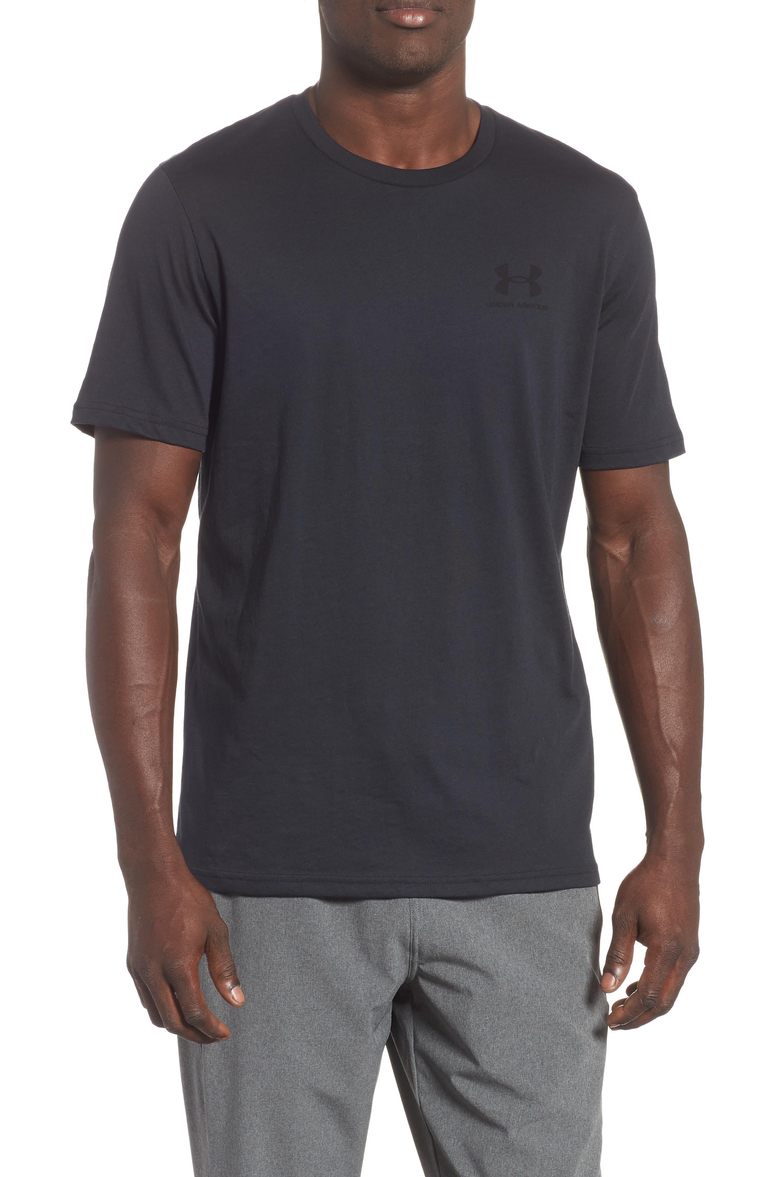 Sportstyle Loose Fit T-Shirt,                             Main thumbnail 1, color,                             BLACK