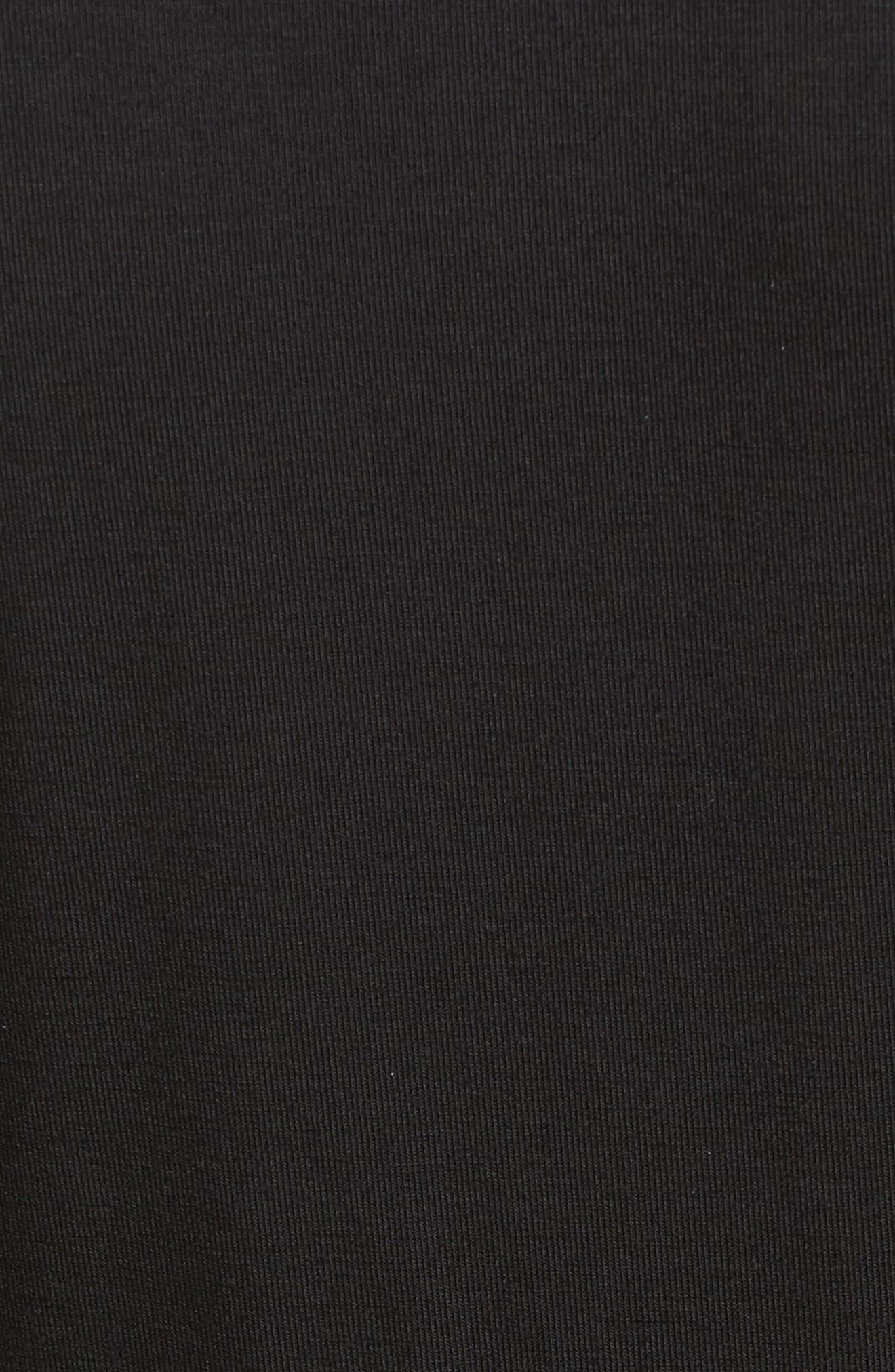 Ruffle Wrap Dress,                             Alternate thumbnail 5, color,                             003