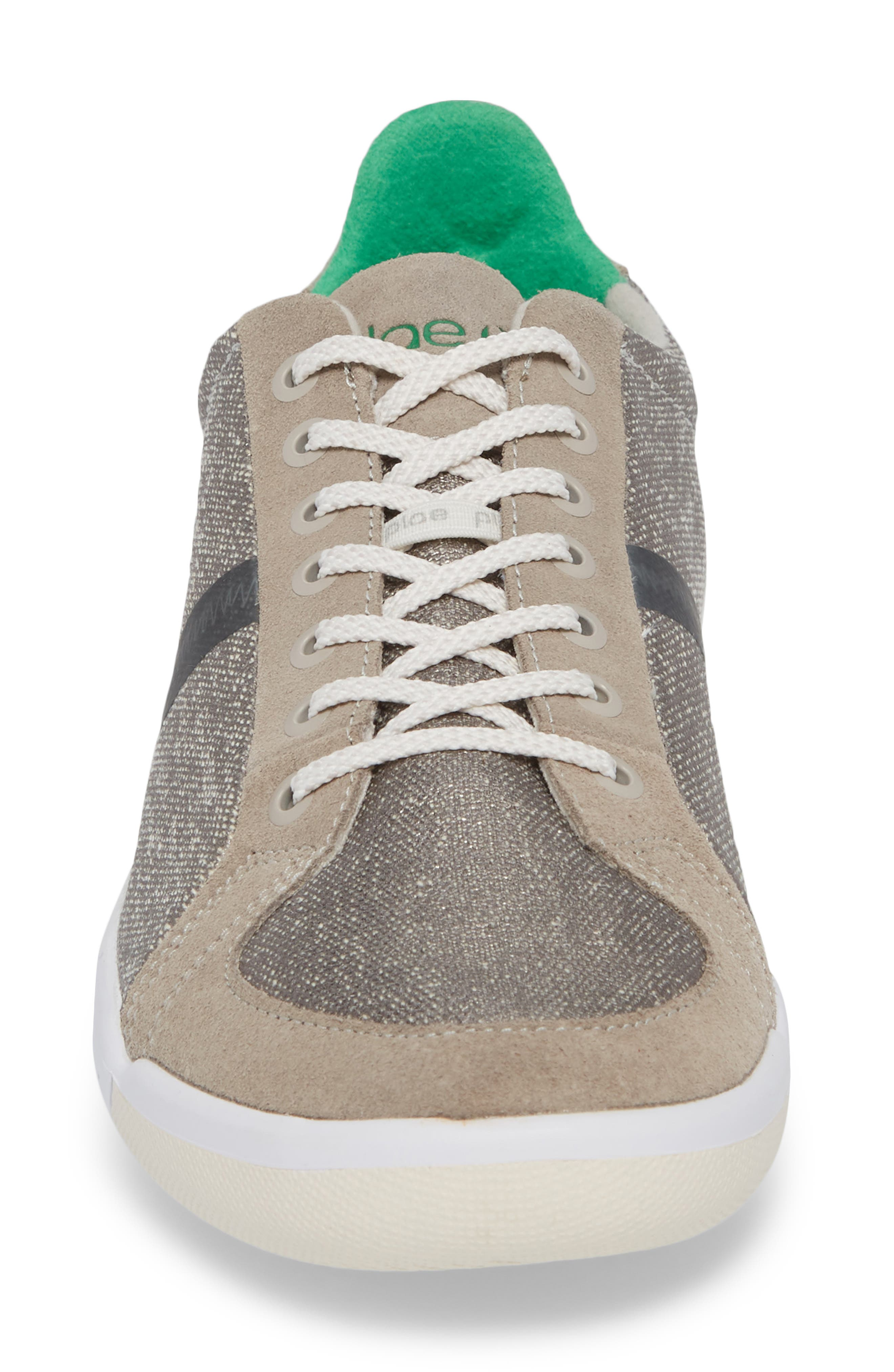 Prospect Low Top Sneaker,                             Alternate thumbnail 4, color,                             STONE