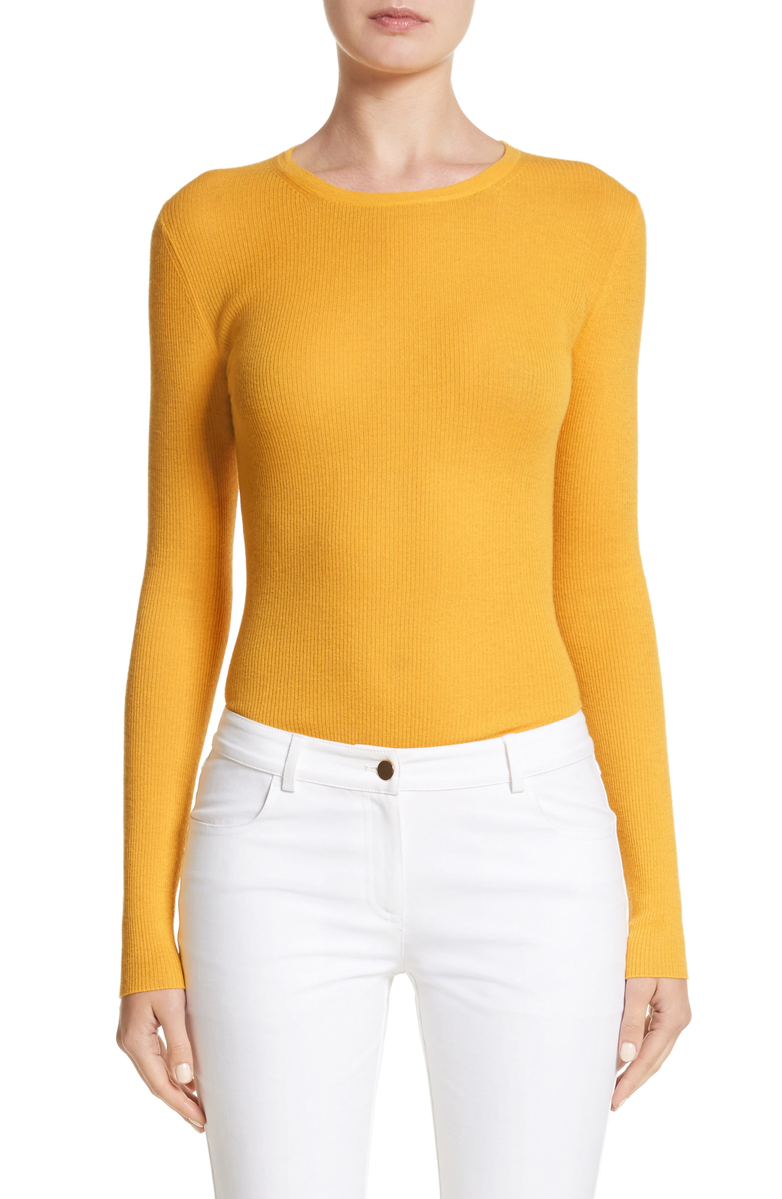 Cashmere Crewneck Sweater,                         Main,                         color, 110