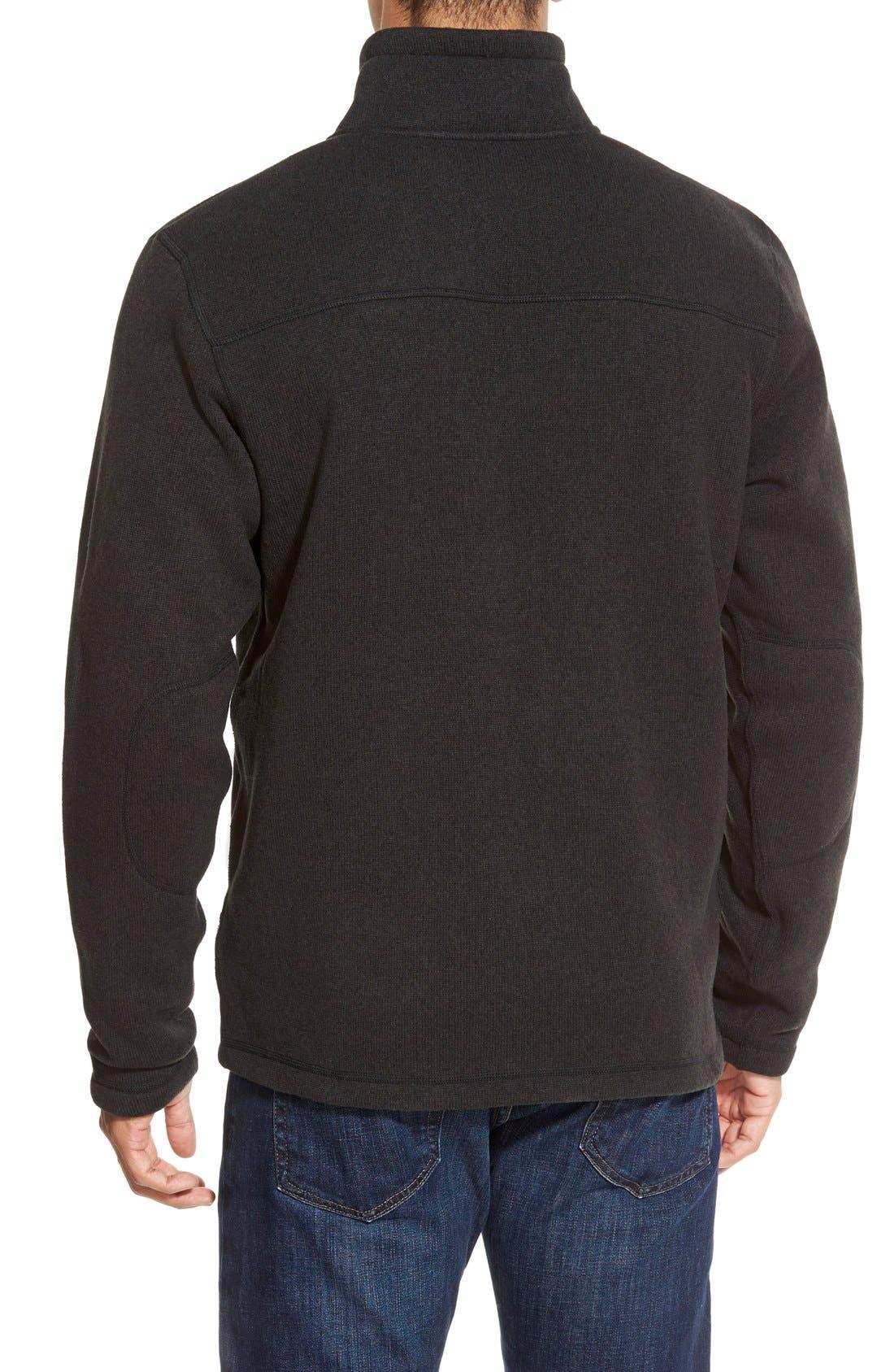THE NORTH FACE,                             'Gordon Lyons' Zip Fleece Jacket,                             Alternate thumbnail 6, color,                             001