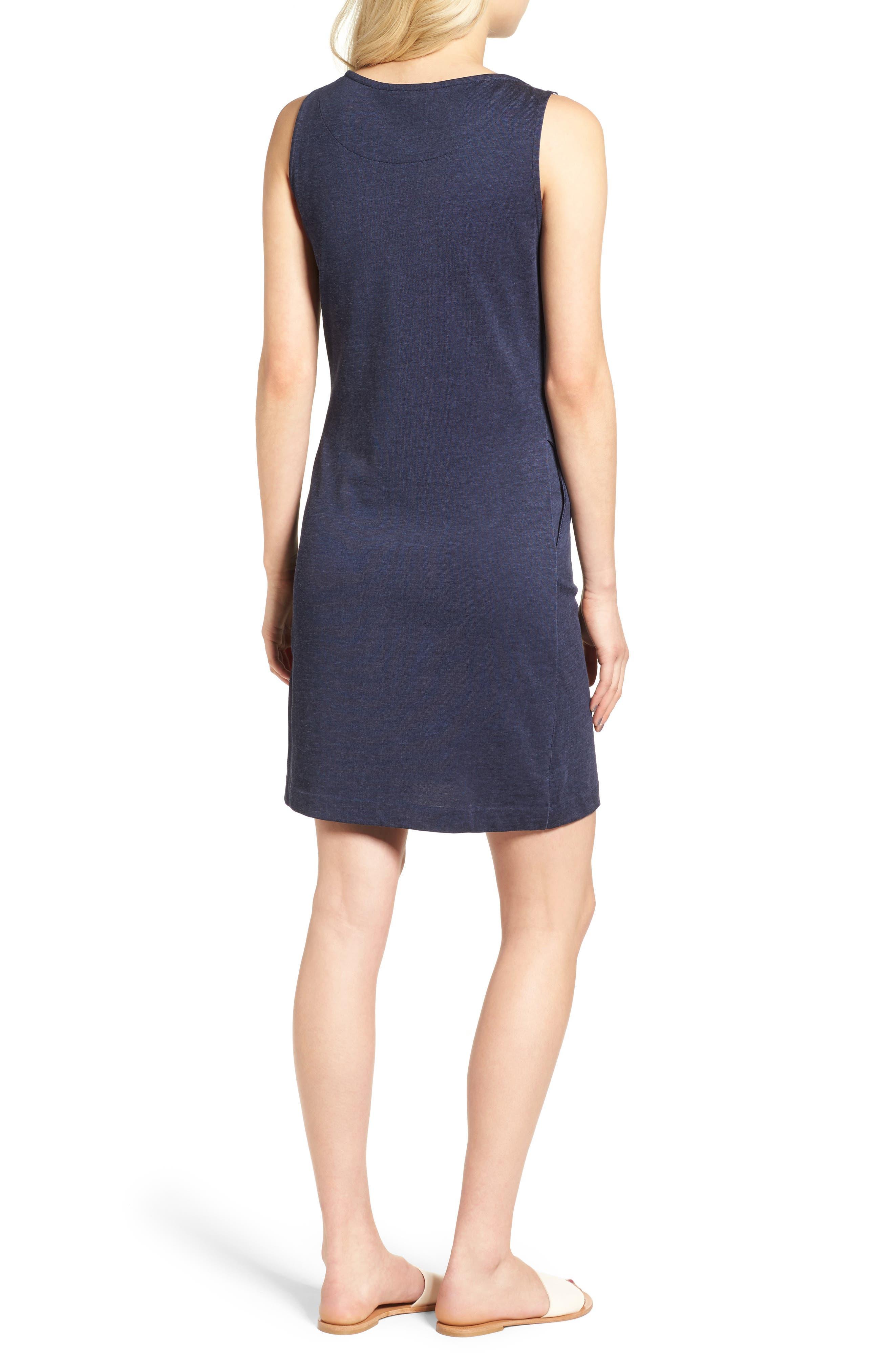 Dolostone Jersey Shift Dress,                             Alternate thumbnail 2, color,                             410