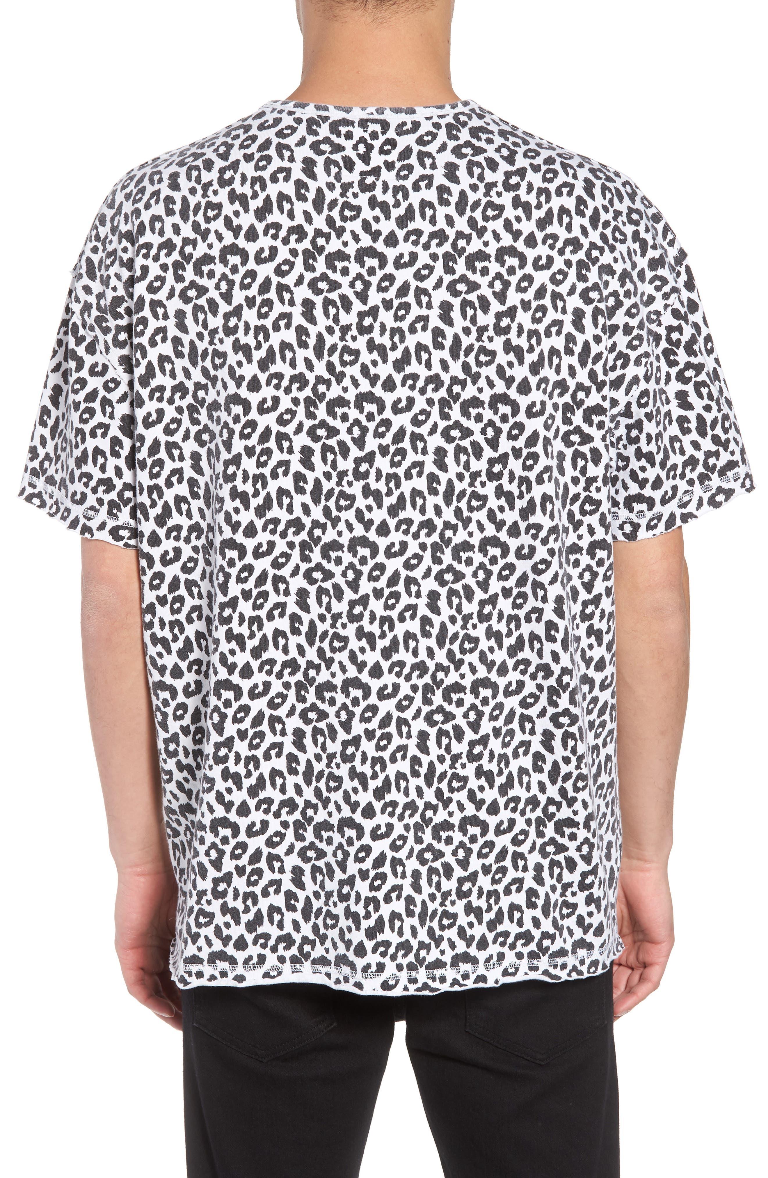Mich Print T-Shirt,                             Alternate thumbnail 2, color,                             100