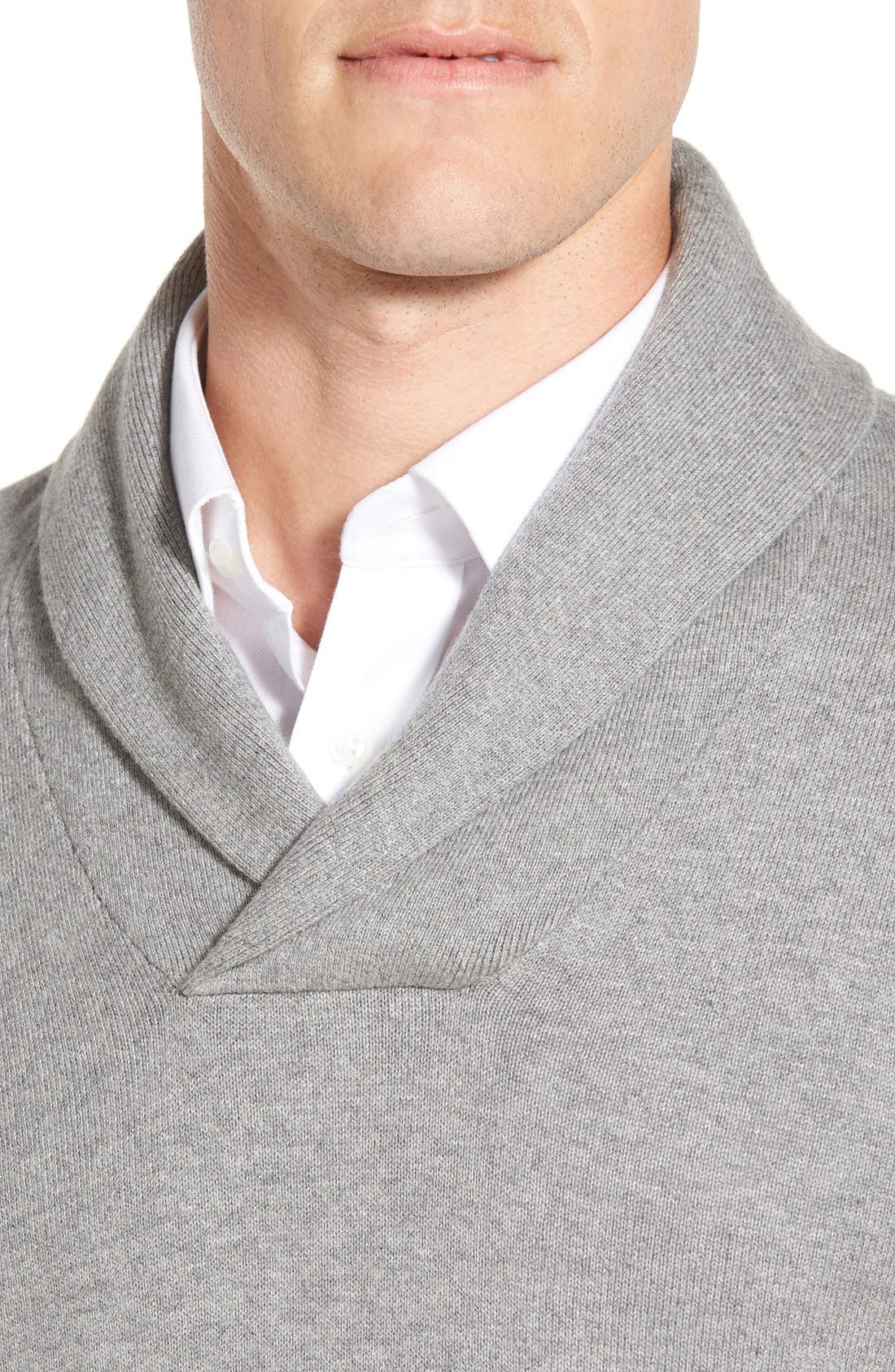 Men's Shop Shawl Collar Sweater,                             Alternate thumbnail 20, color,