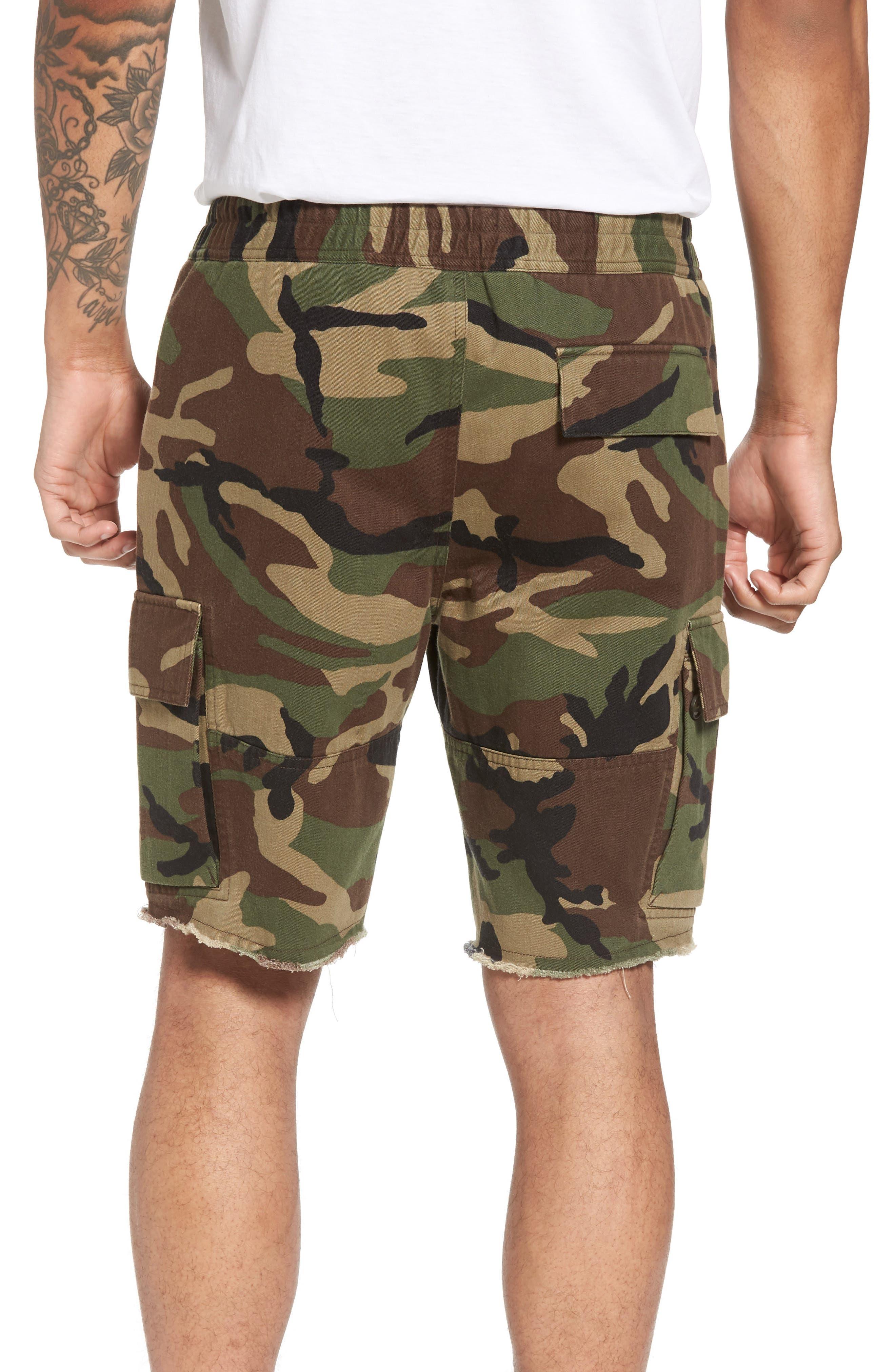 Slim Fit Cargo Shorts,                             Alternate thumbnail 2, color,                             300