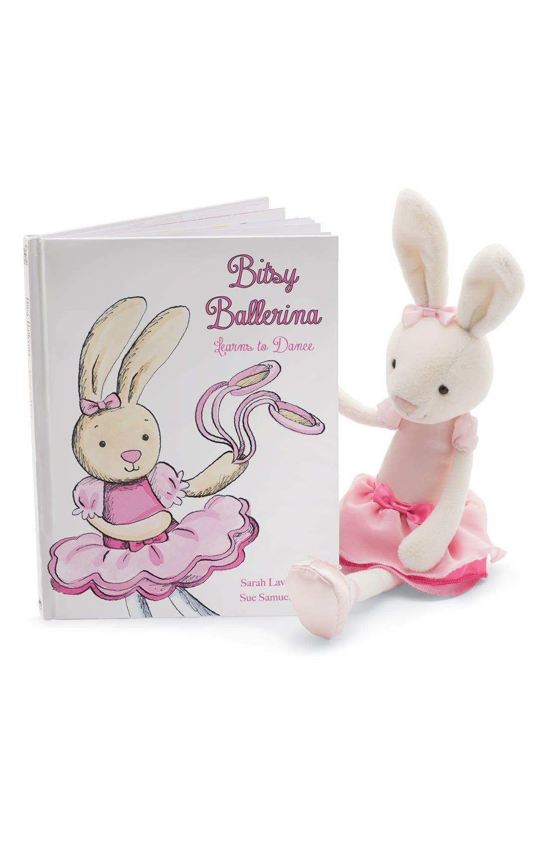 'Bitsy Ballerina Bunny' Stuffed Animal,                             Alternate thumbnail 2, color,                             660
