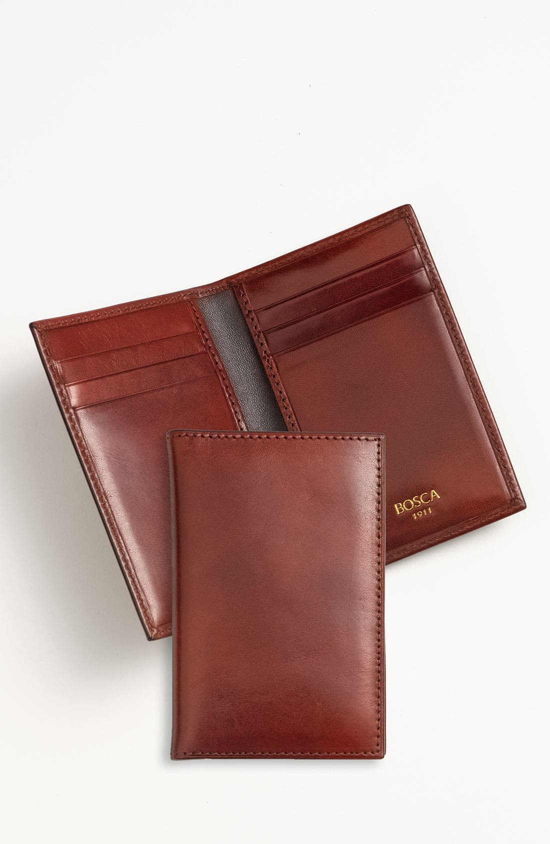 'Old Leather' Card Case,                             Alternate thumbnail 6, color,