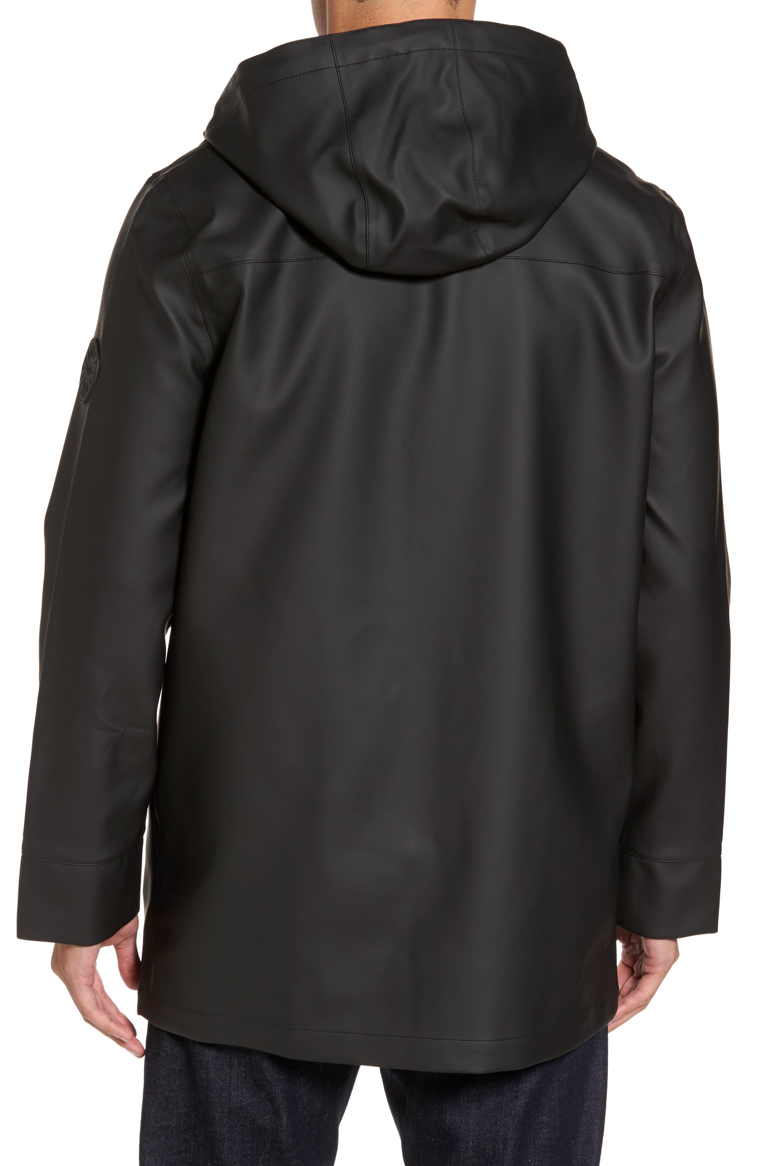 Hooded Raincoat,                             Alternate thumbnail 2, color,                             001