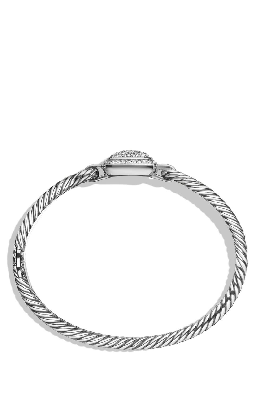 'Albion' Bracelet with Diamonds,                             Alternate thumbnail 3, color,                             DIAMOND