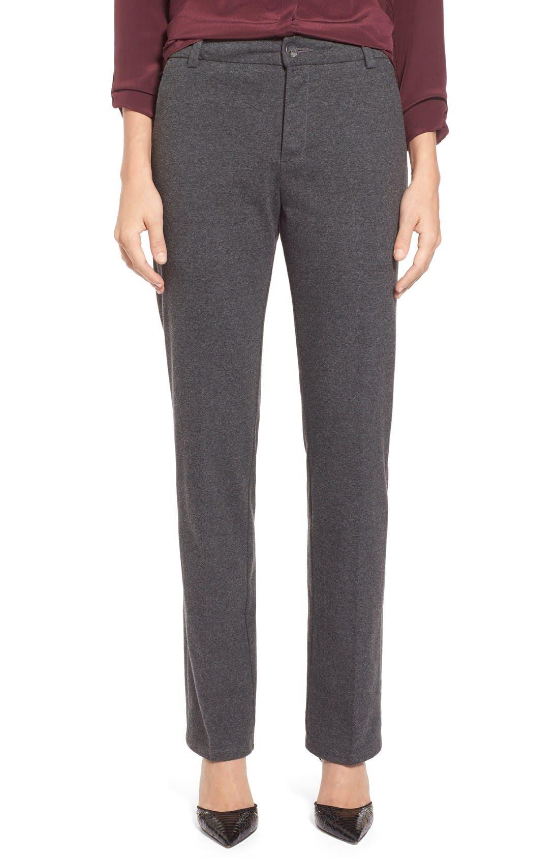 Cotton Jersey Trousers,                             Main thumbnail 1, color,                             069