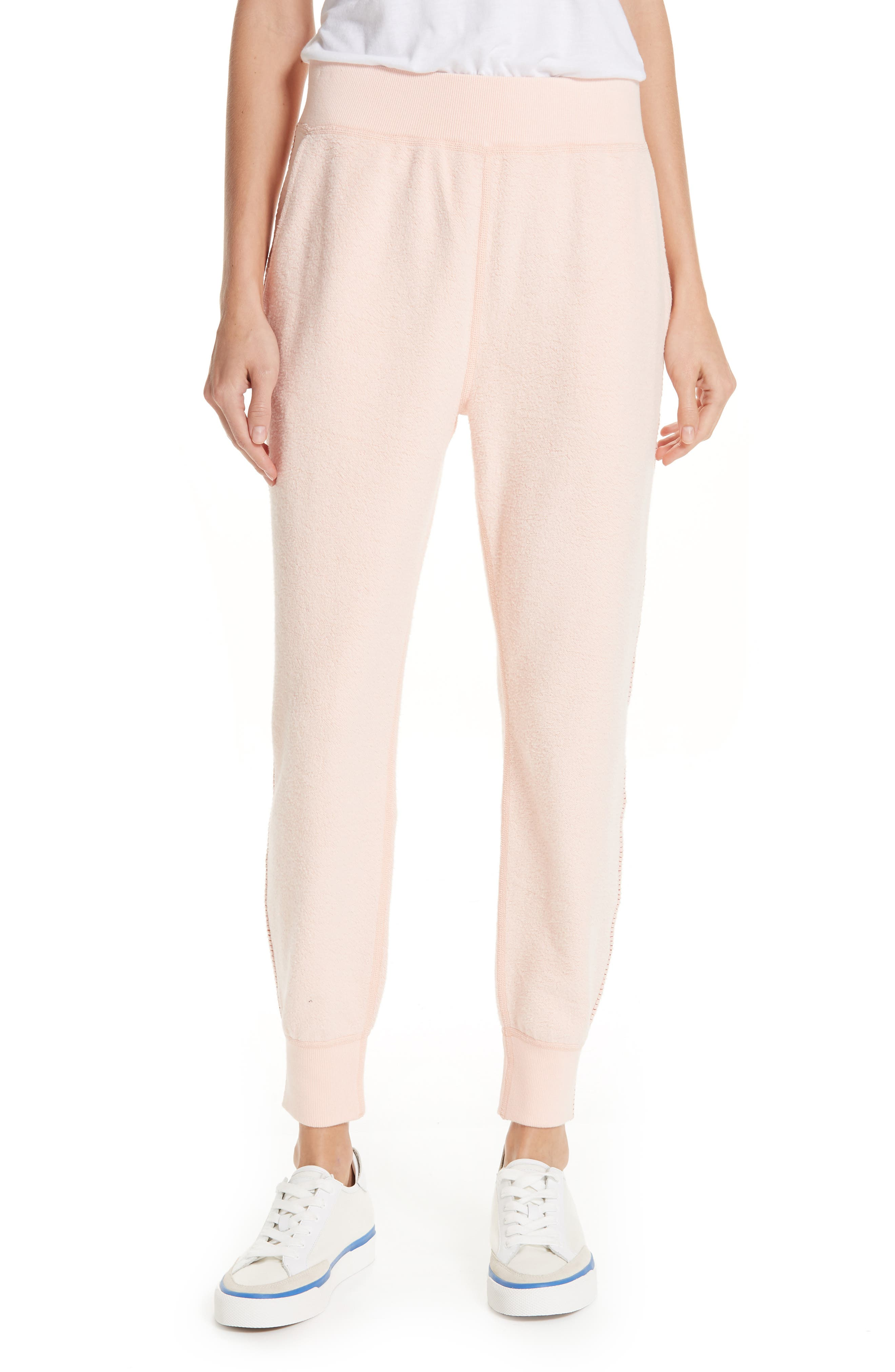 rag & bone Inside Out Brushed Terry Pants,                         Main,                         color, 666