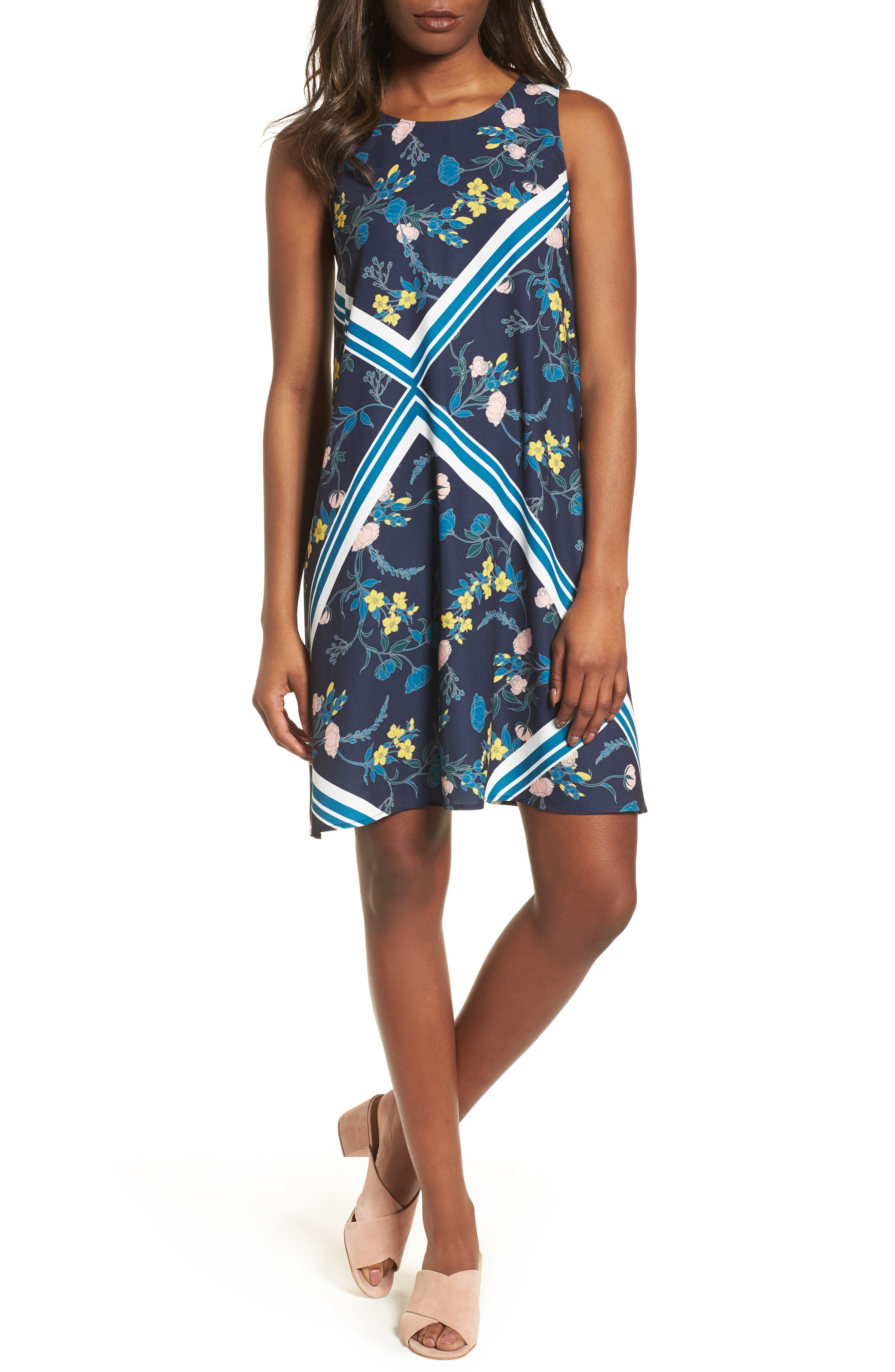 A-Line Dress,                             Alternate thumbnail 115, color,