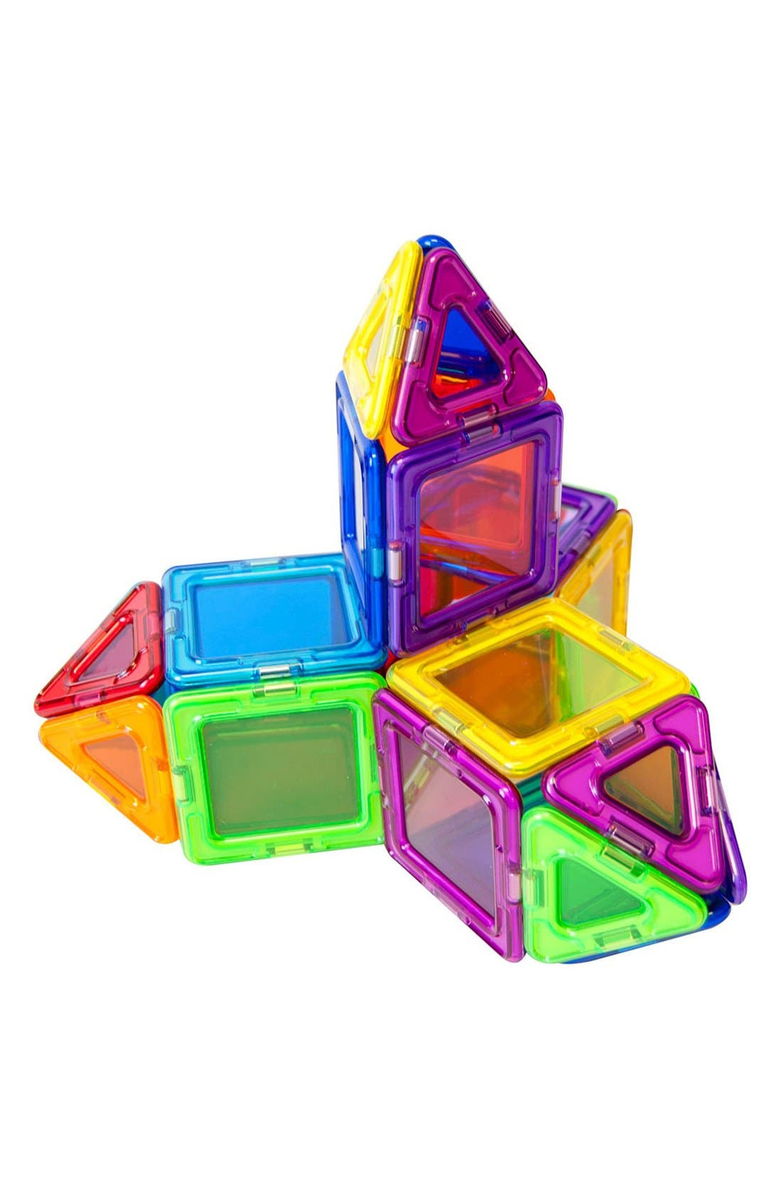 'Standard - Solids' Clear Magnetic 3D Construction Set,                             Alternate thumbnail 5, color,                             600