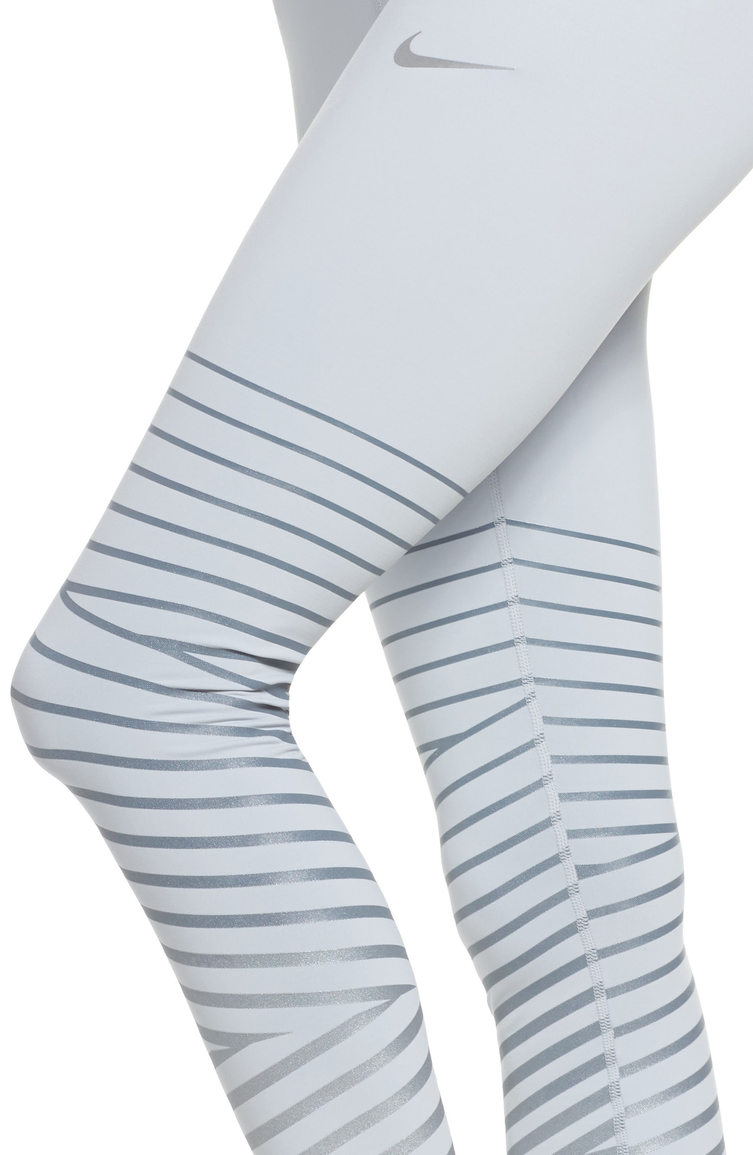 Power Epic Lux Flash Running Tights,                             Alternate thumbnail 13, color,