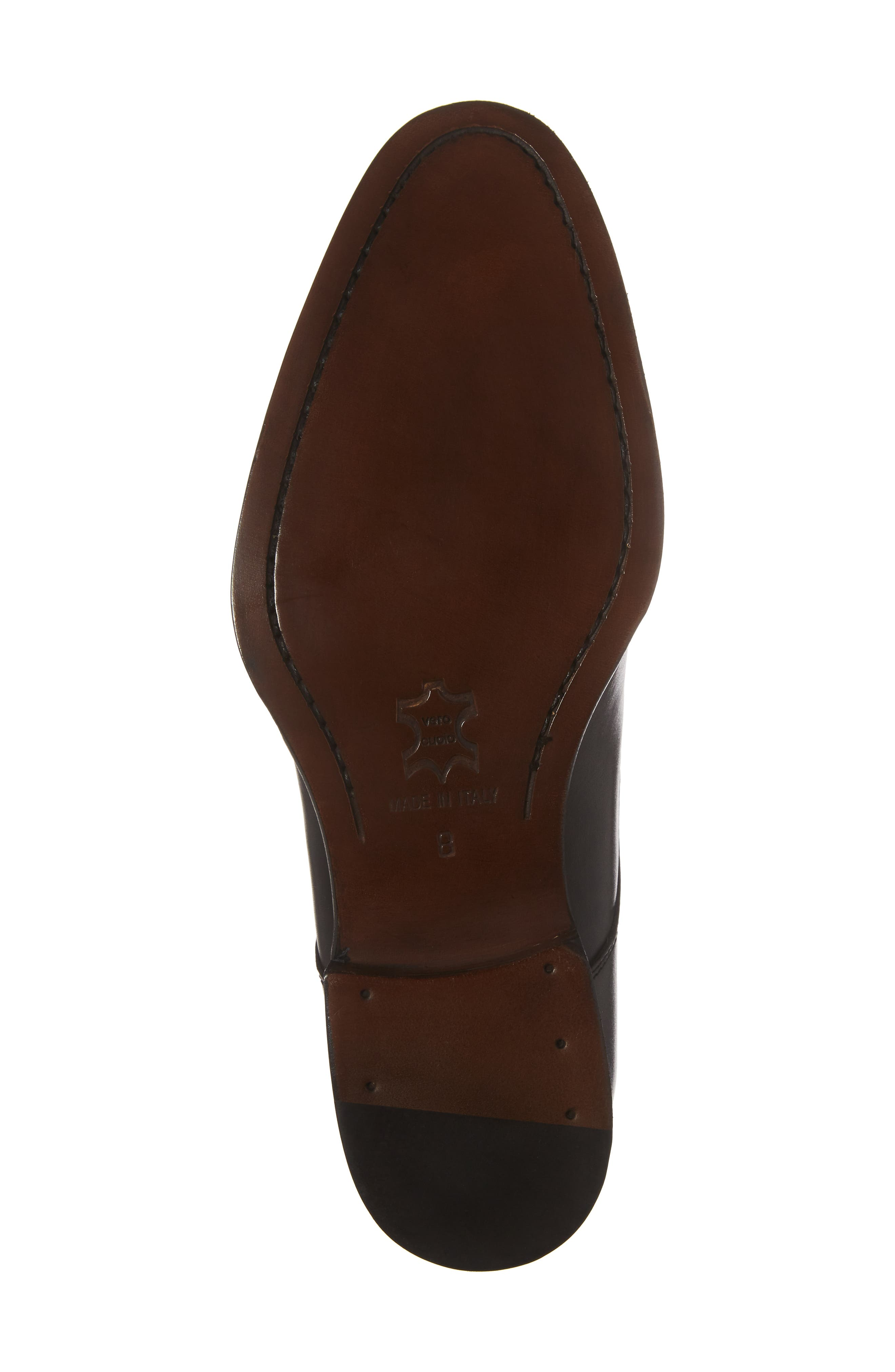 Stratton Double Monk Strap Shoe,                             Alternate thumbnail 6, color,                             001