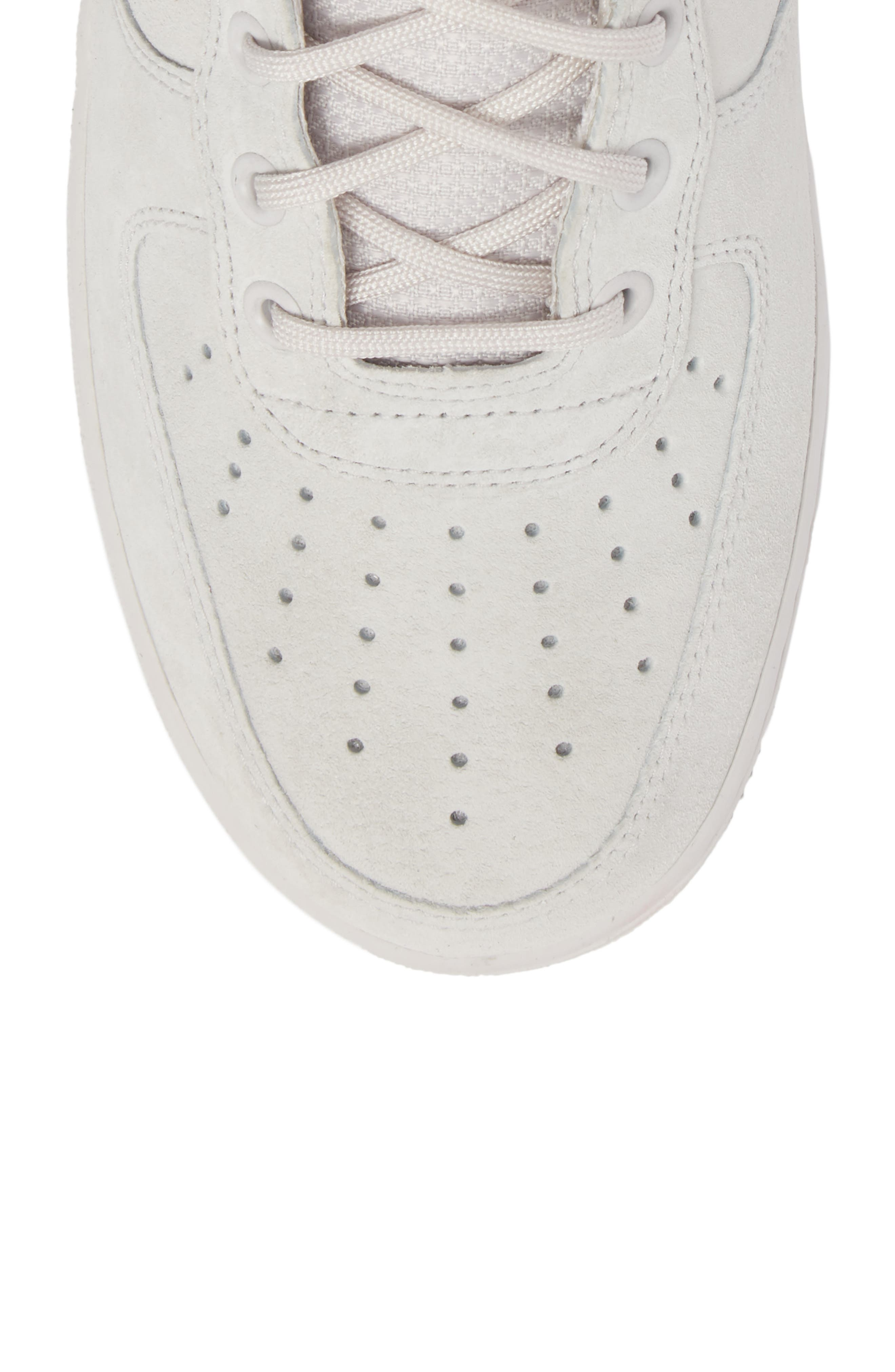 SF Air Force 1 Mid Suede Sneaker,                             Alternate thumbnail 5, color,                             021