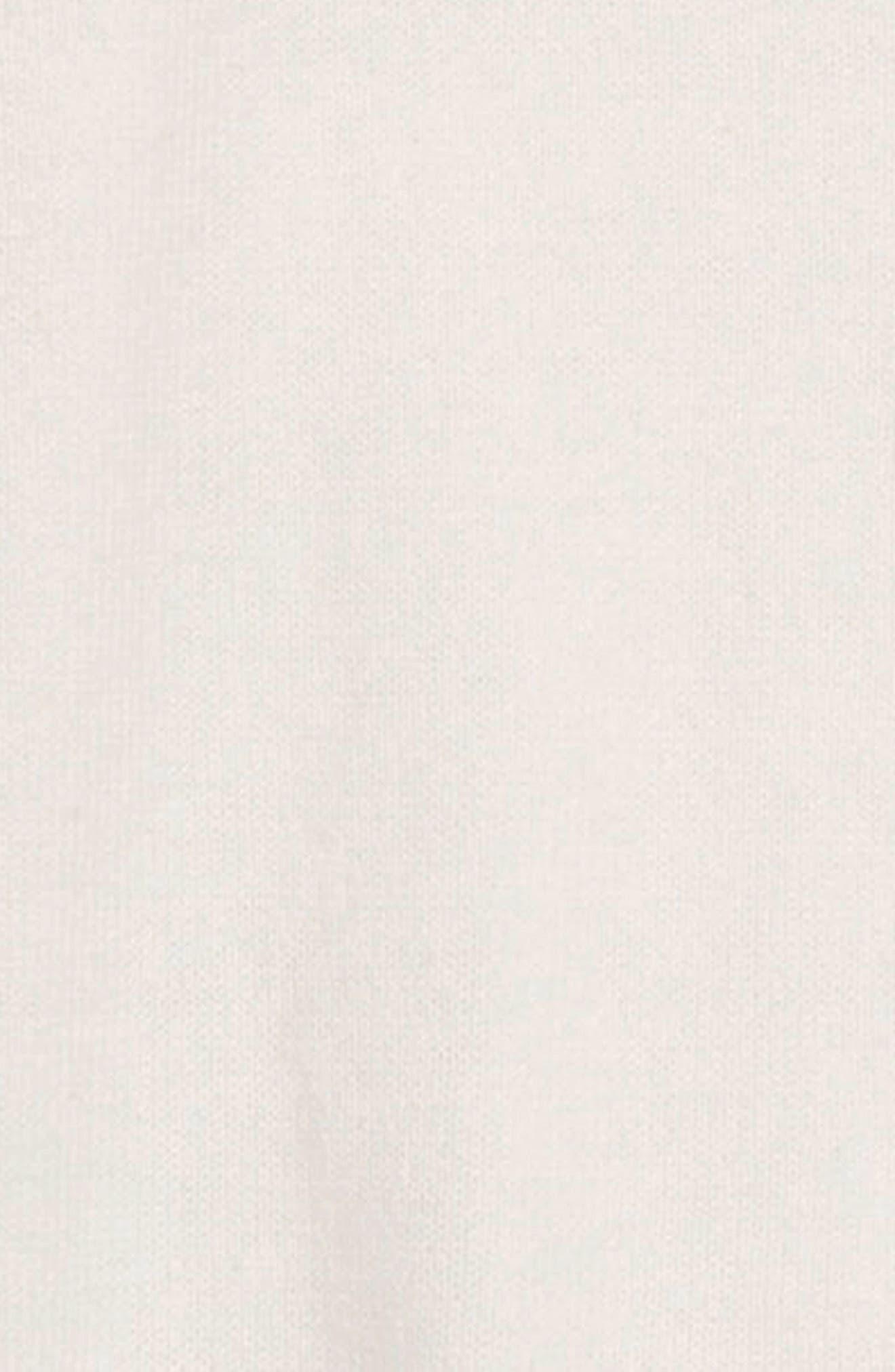 Ruffle Sleeve Cardigan,                             Alternate thumbnail 2, color,                             IVORY EGRET