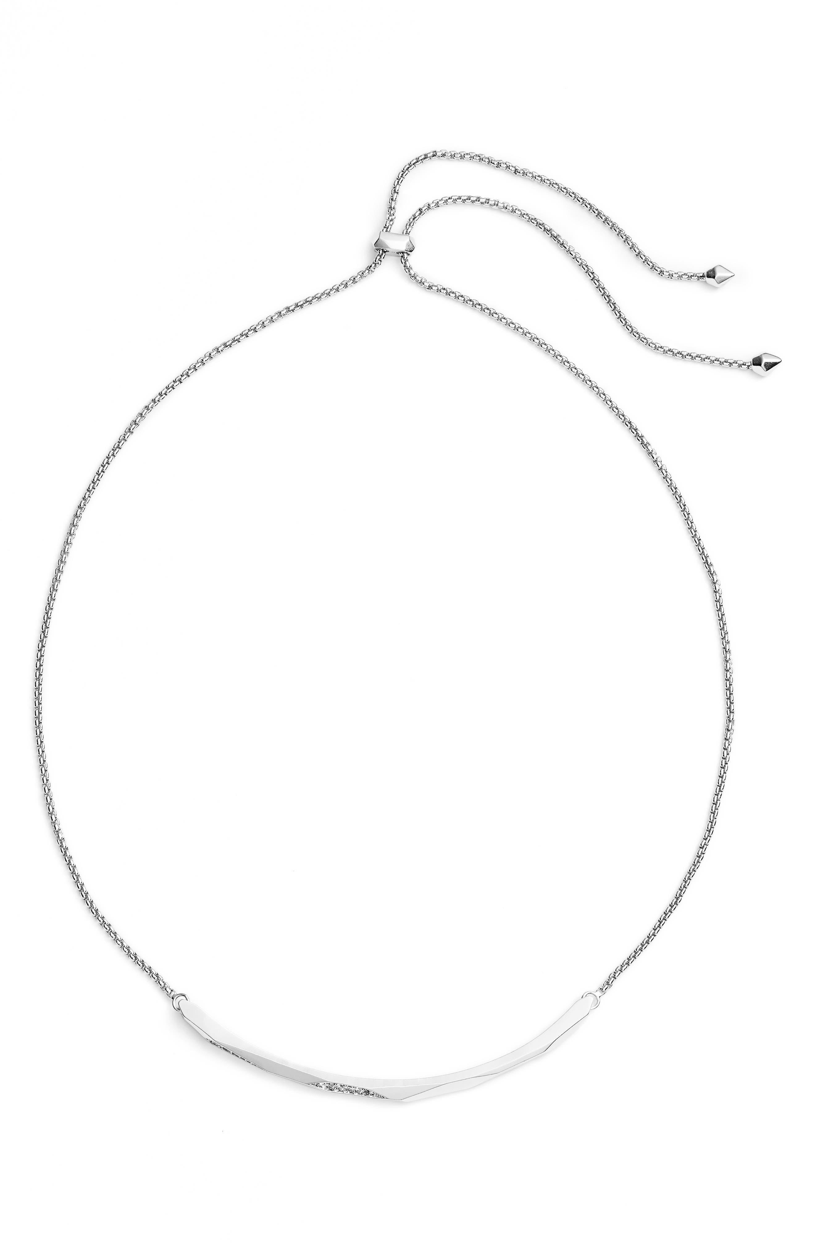 Graham Sparkle Bar Necklace,                         Main,                         color, 040