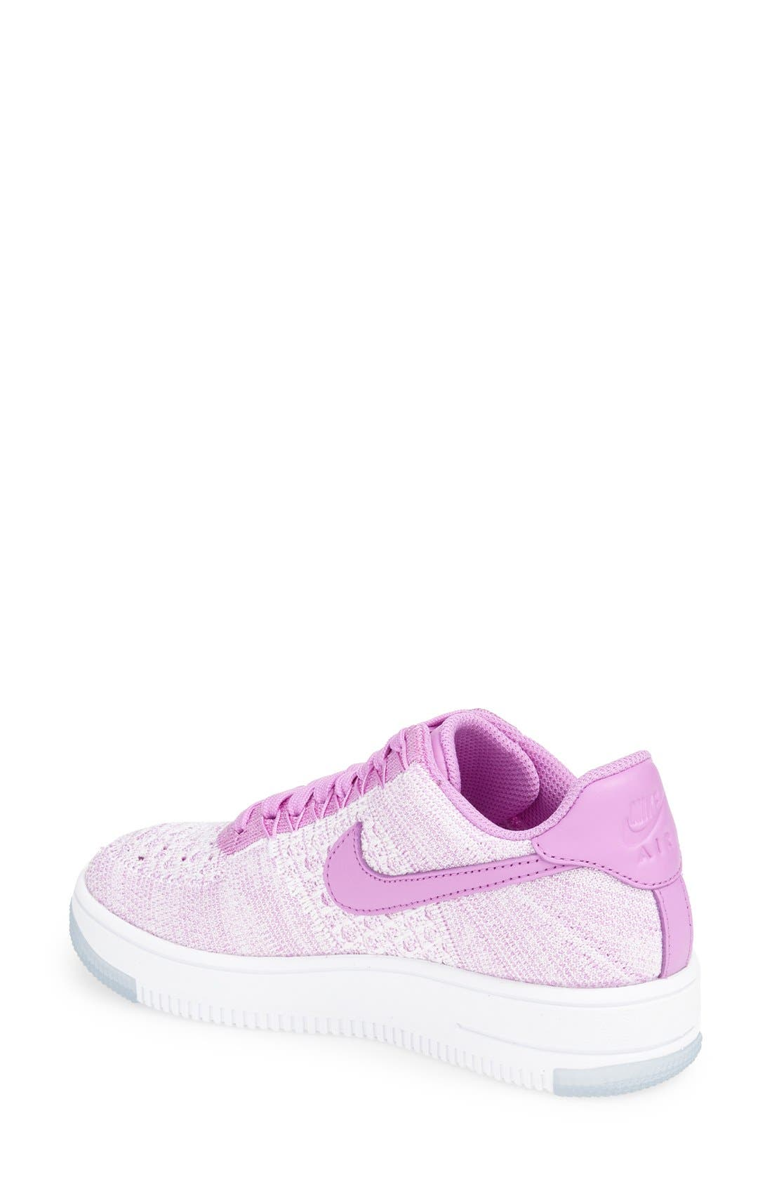 'Air Force 1 Flyknit Low' Sneaker,                             Alternate thumbnail 13, color,