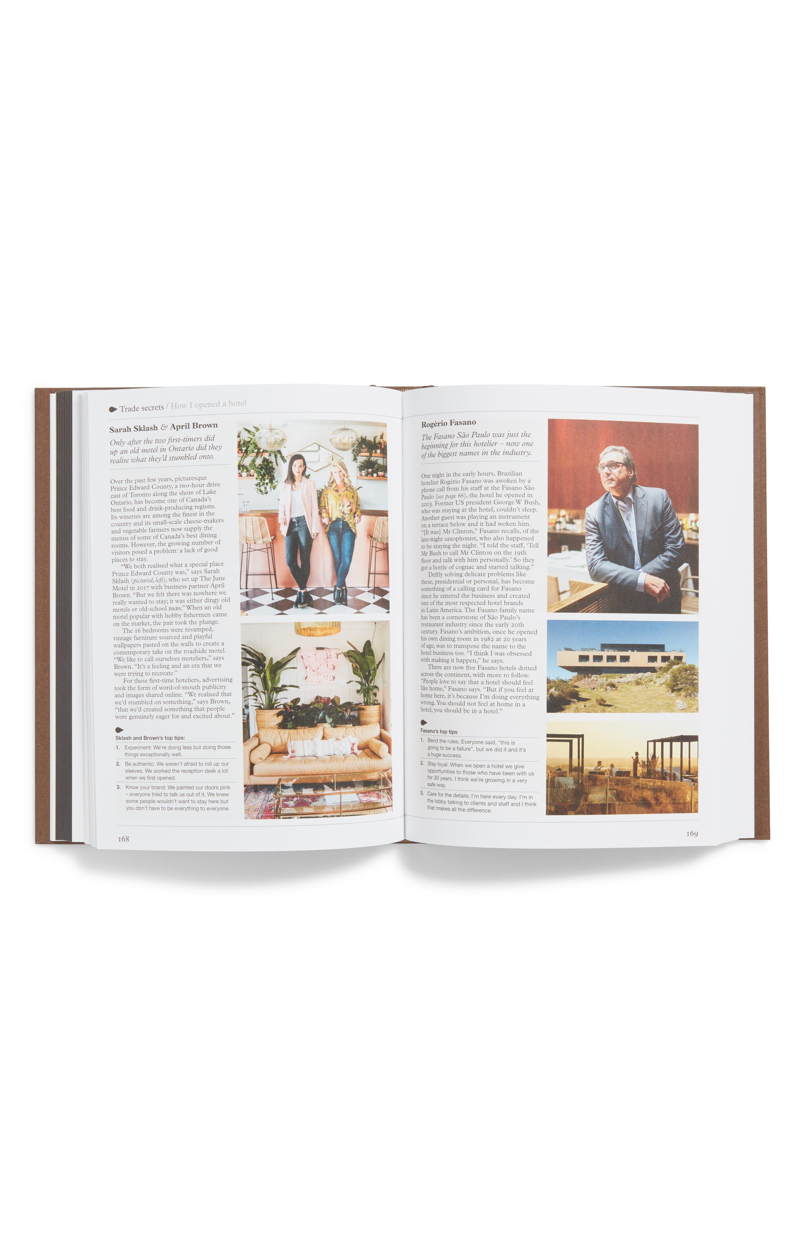 Guide to Hotels, Inns & Hideaways Book,                             Alternate thumbnail 2, color,                             BROWN