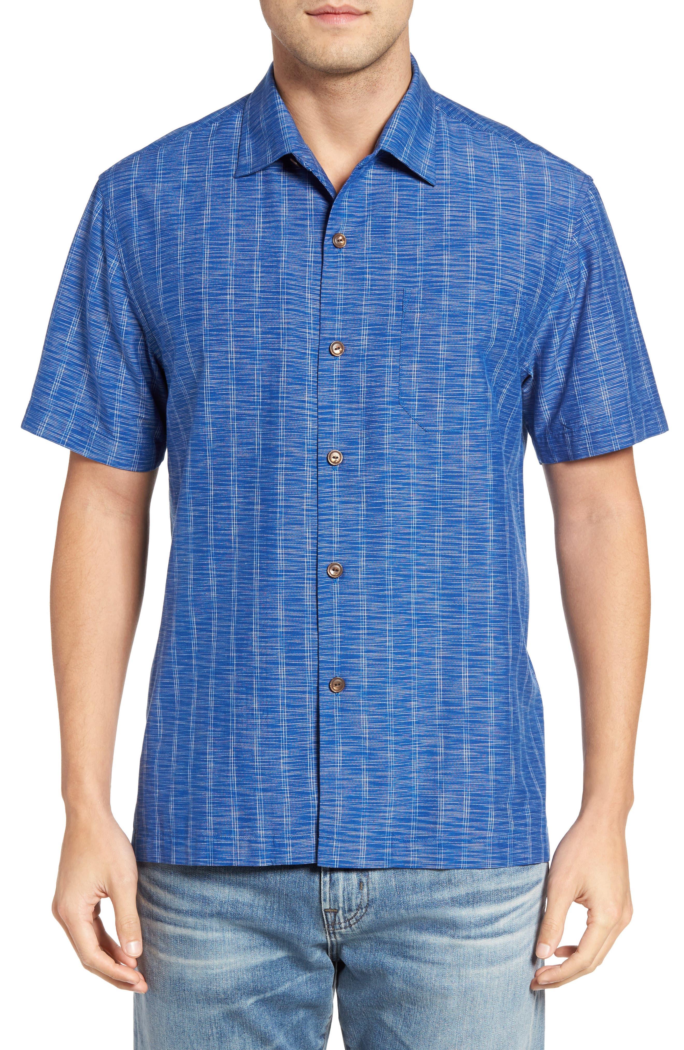 Seismic Stripe Silk Sport Shirt,                             Main thumbnail 2, color,