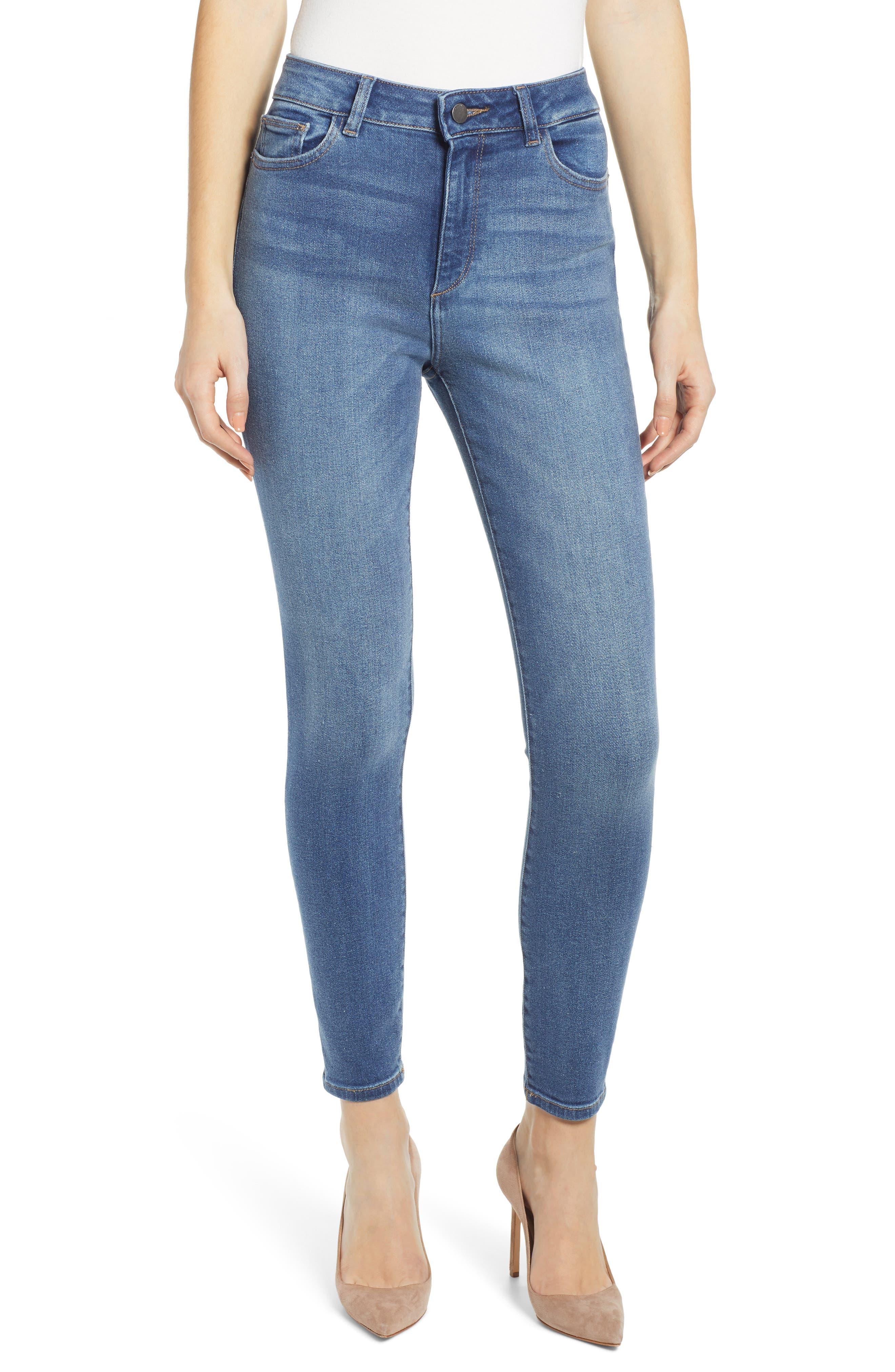 Farrow High Waist Crop Skinny Jeans by Dl1961