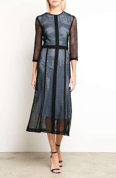Lace Midi Dress, video thumbnail
