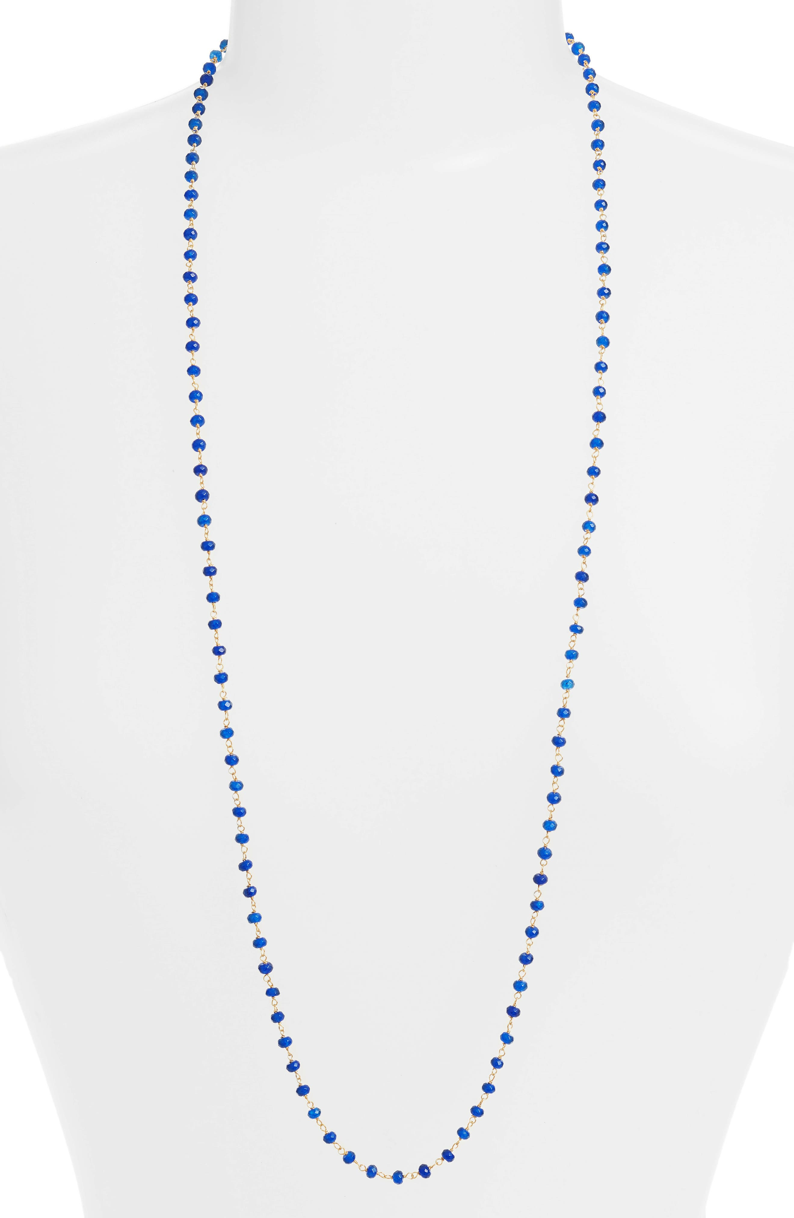 Beaded Wrap Necklace,                         Main,                         color,