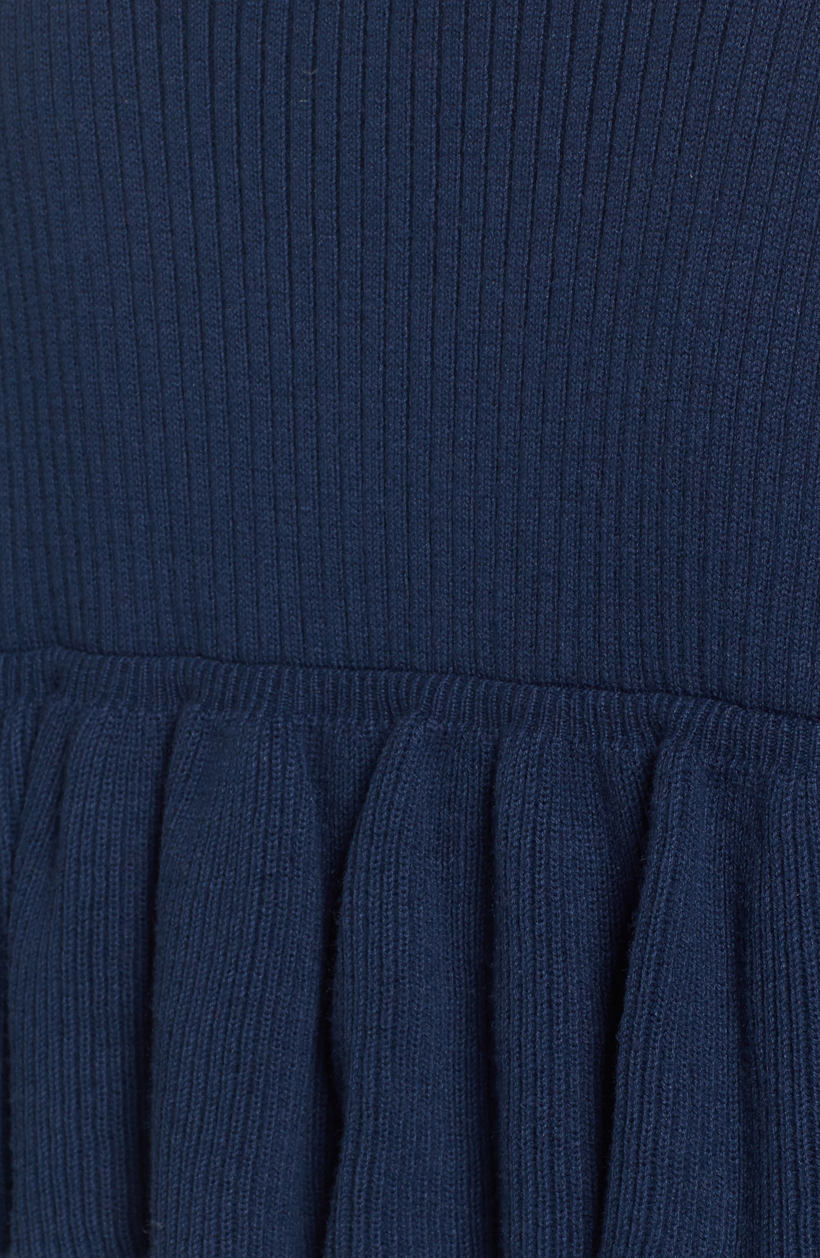 Ribbed Ruffle Sweater,                             Alternate thumbnail 5, color,                             476