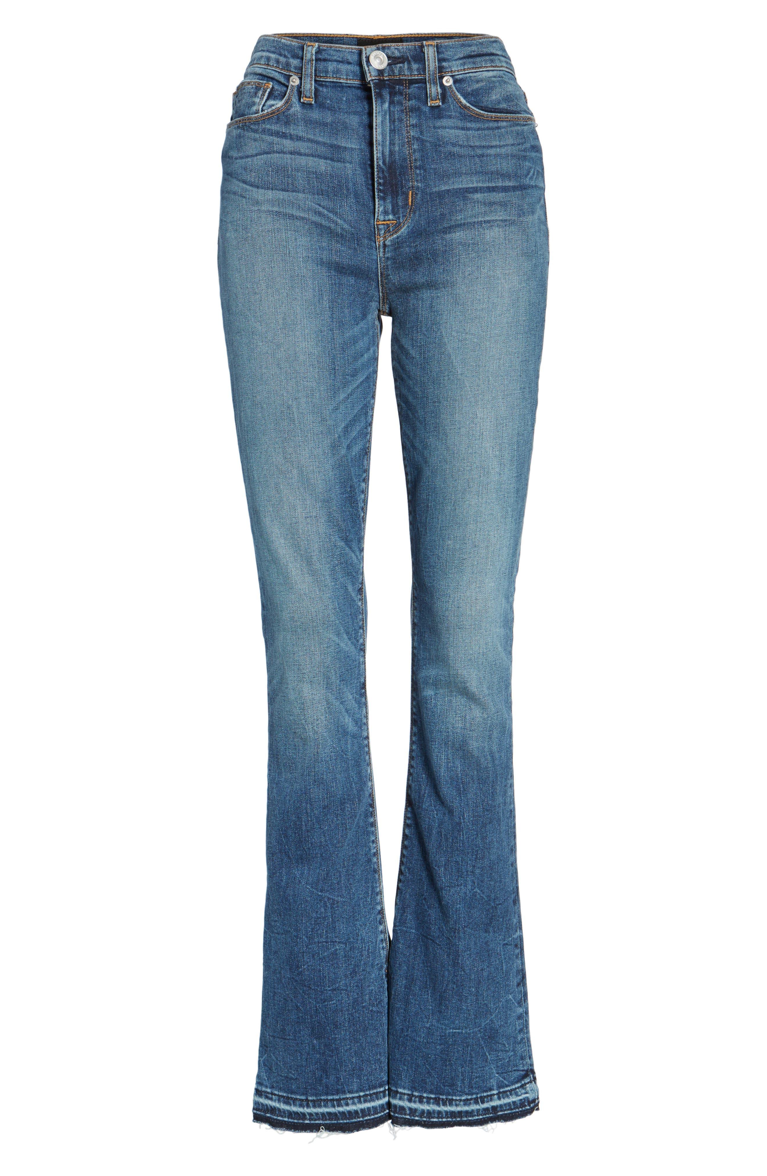 Heartbreaker High Waist Bootcut Jeans,                             Alternate thumbnail 6, color,                             SPLIT SECOND