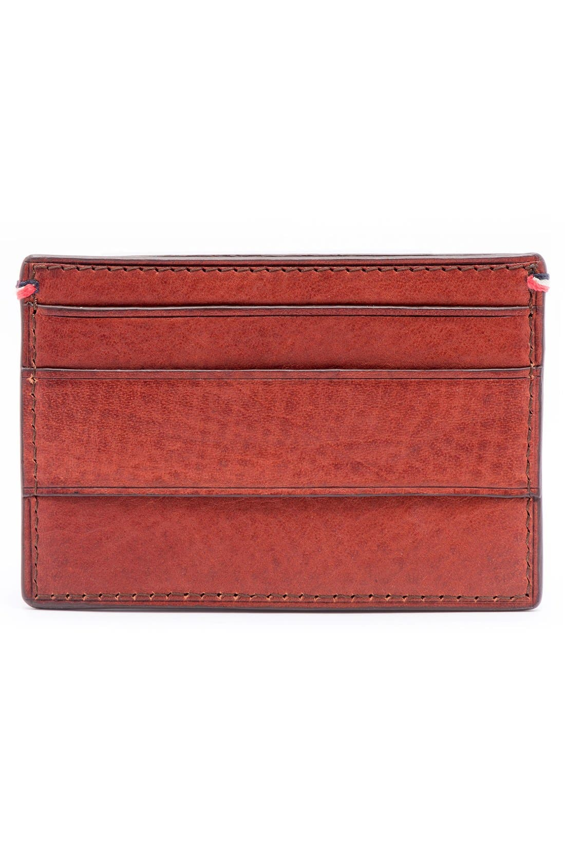 Pebbled Leather Card Case,                             Alternate thumbnail 2, color,