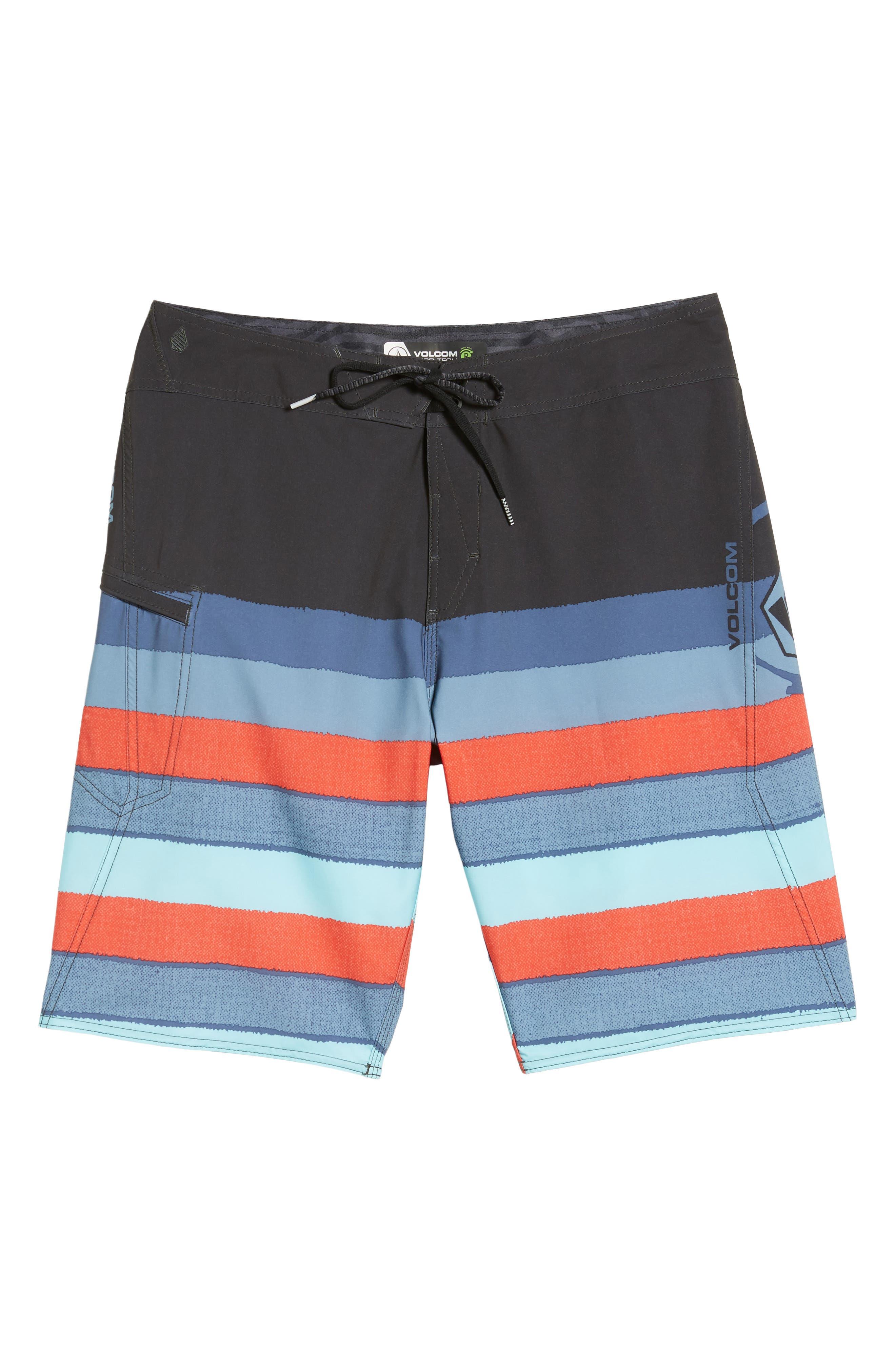 Lido Liney Mod Board Shorts,                             Alternate thumbnail 12, color,