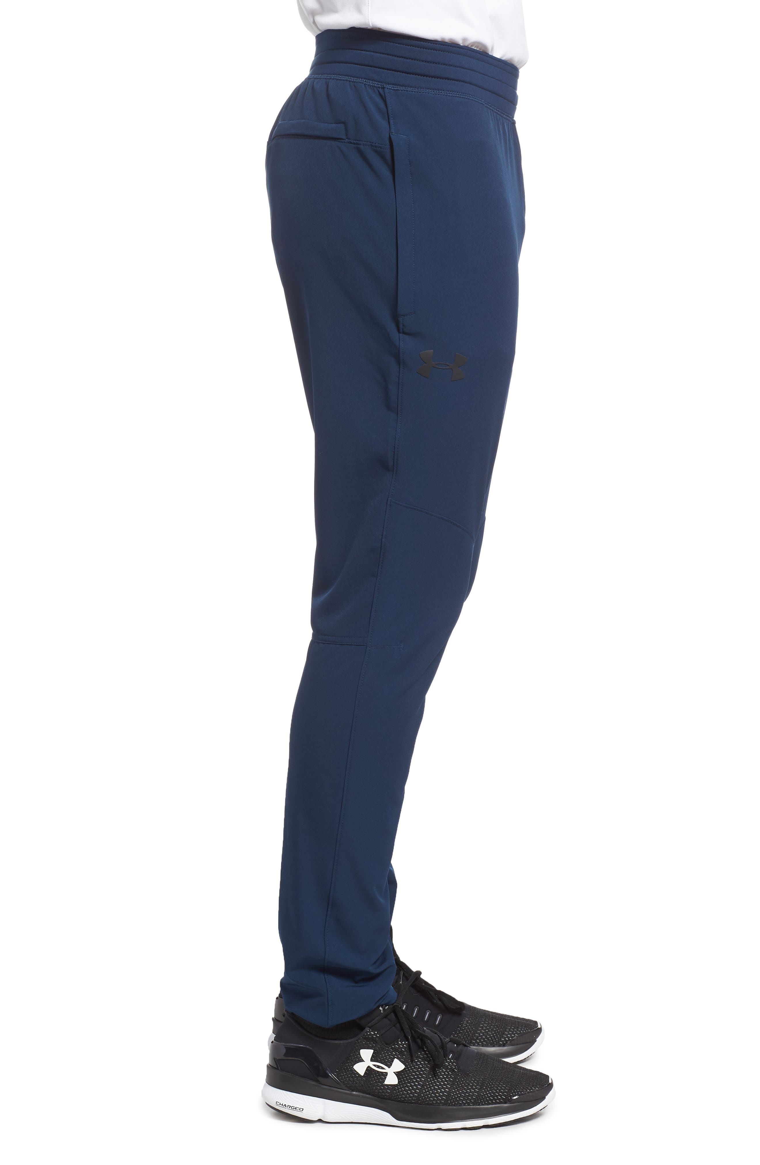 Fitted Woven Training Pants,                             Alternate thumbnail 18, color,