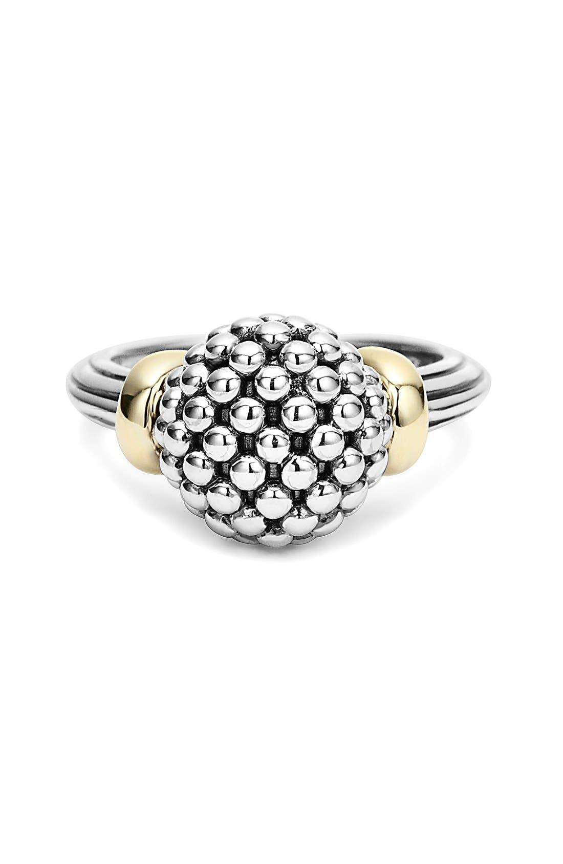 Caviar Forever Medium Dome Ring,                             Alternate thumbnail 5, color,