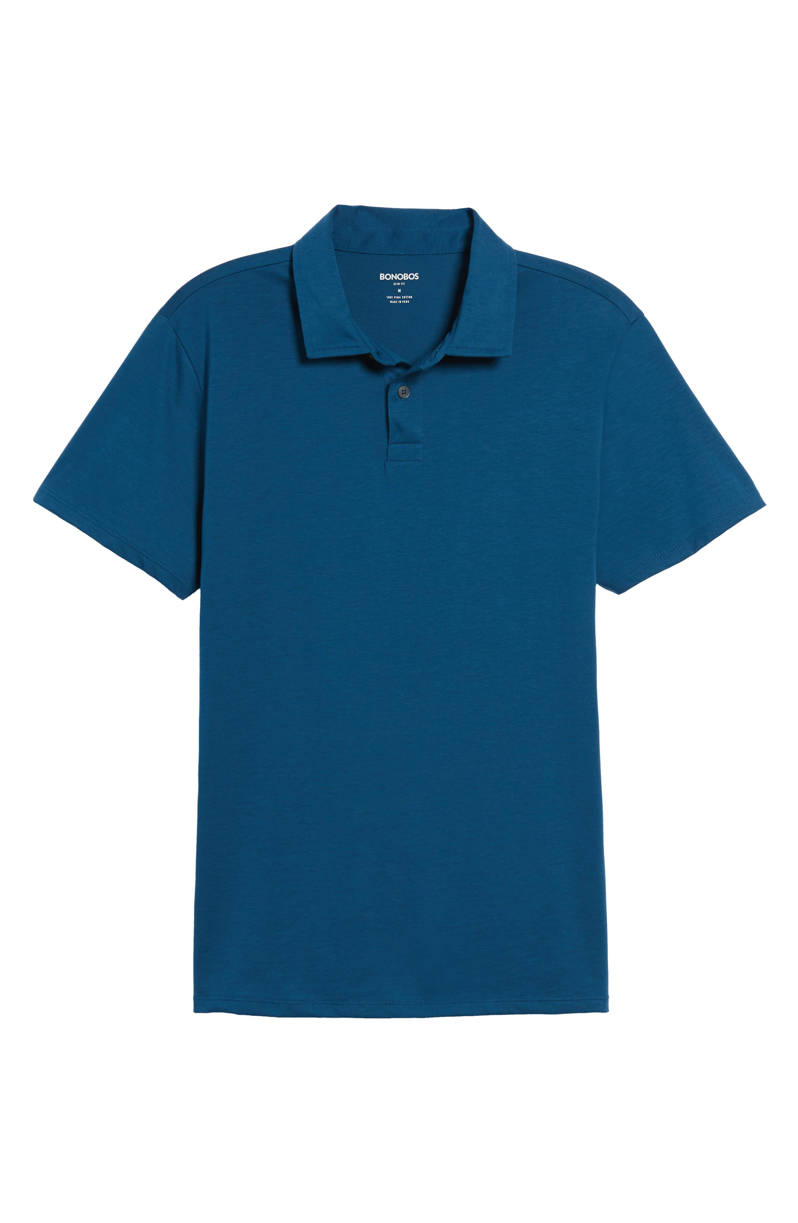 Refined Jersey Polo,                             Alternate thumbnail 47, color,