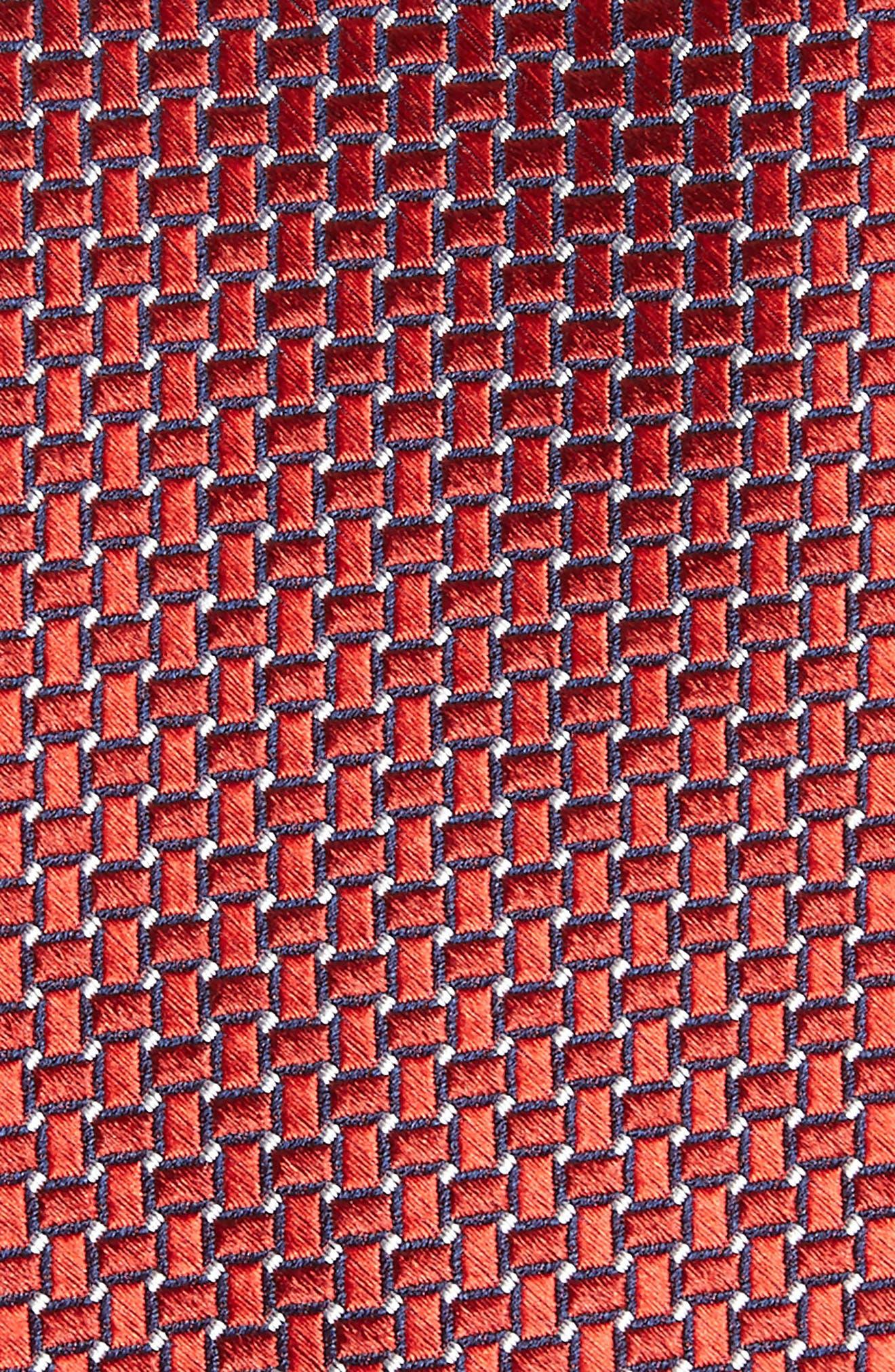 Basketweave Silk Tie,                             Alternate thumbnail 12, color,