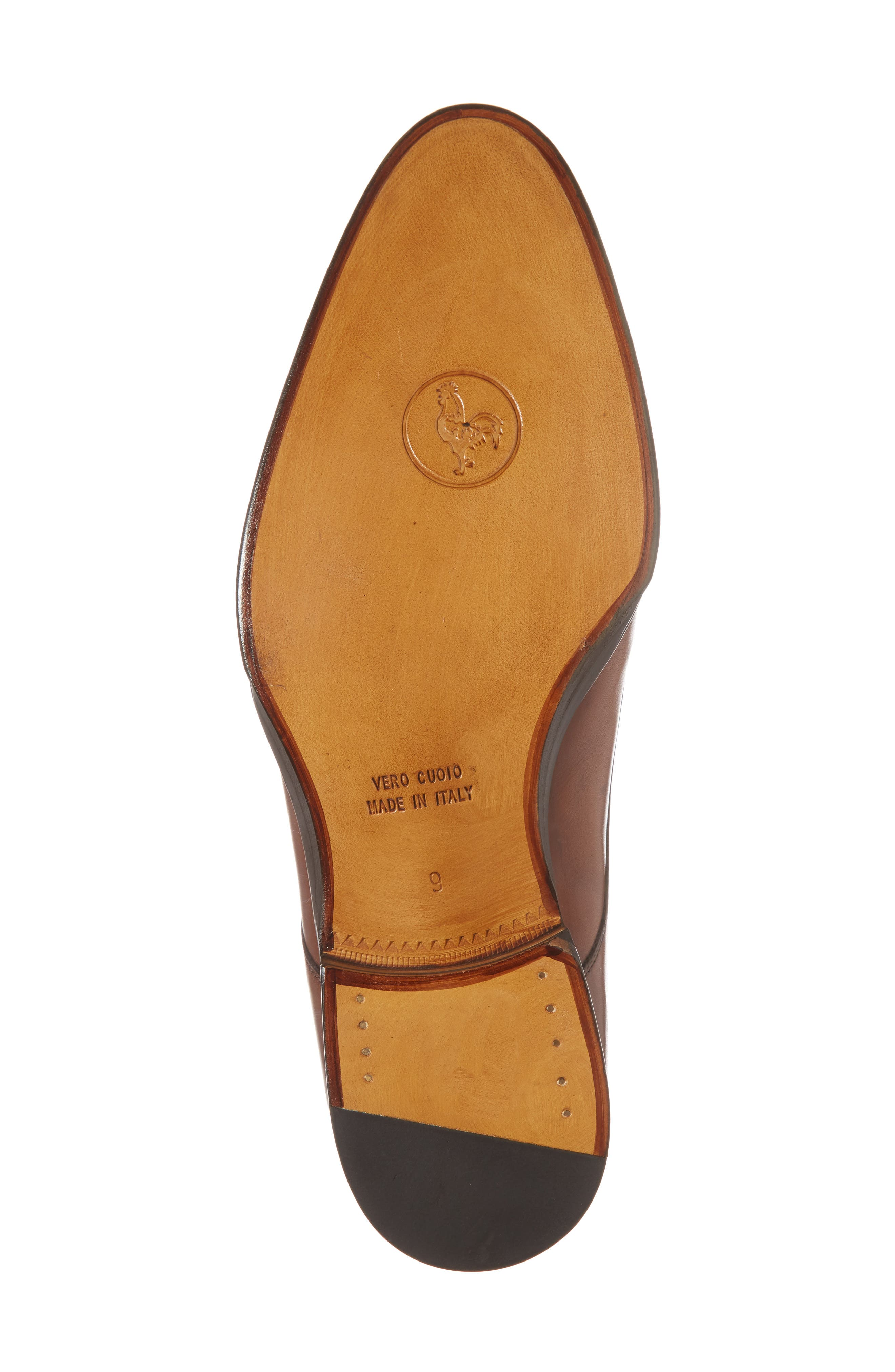 Gallo Bianco Double Monk Strap Shoe,                             Alternate thumbnail 6, color,                             201