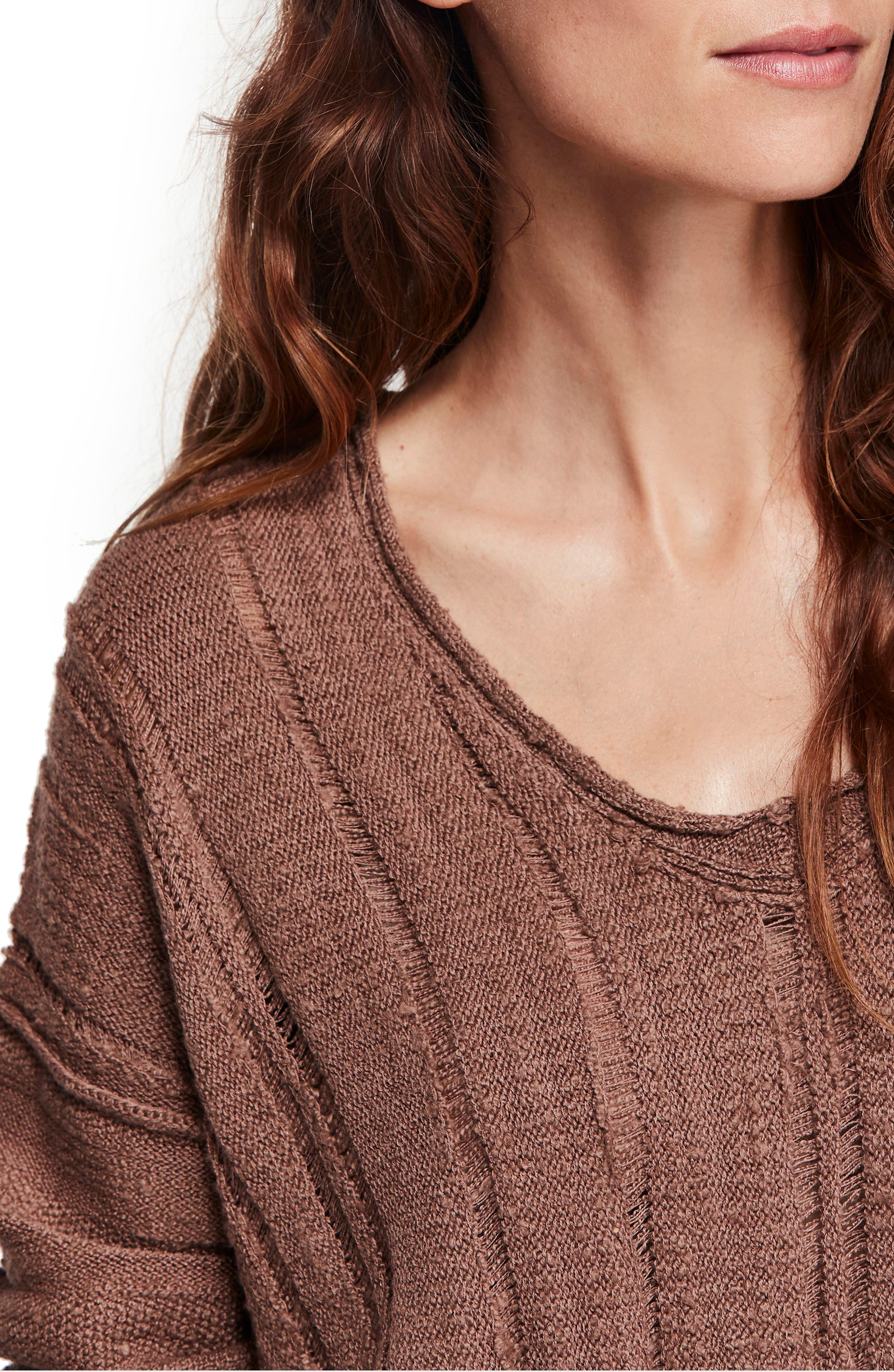 Ocean Drive Sweater,                             Alternate thumbnail 4, color,                             200